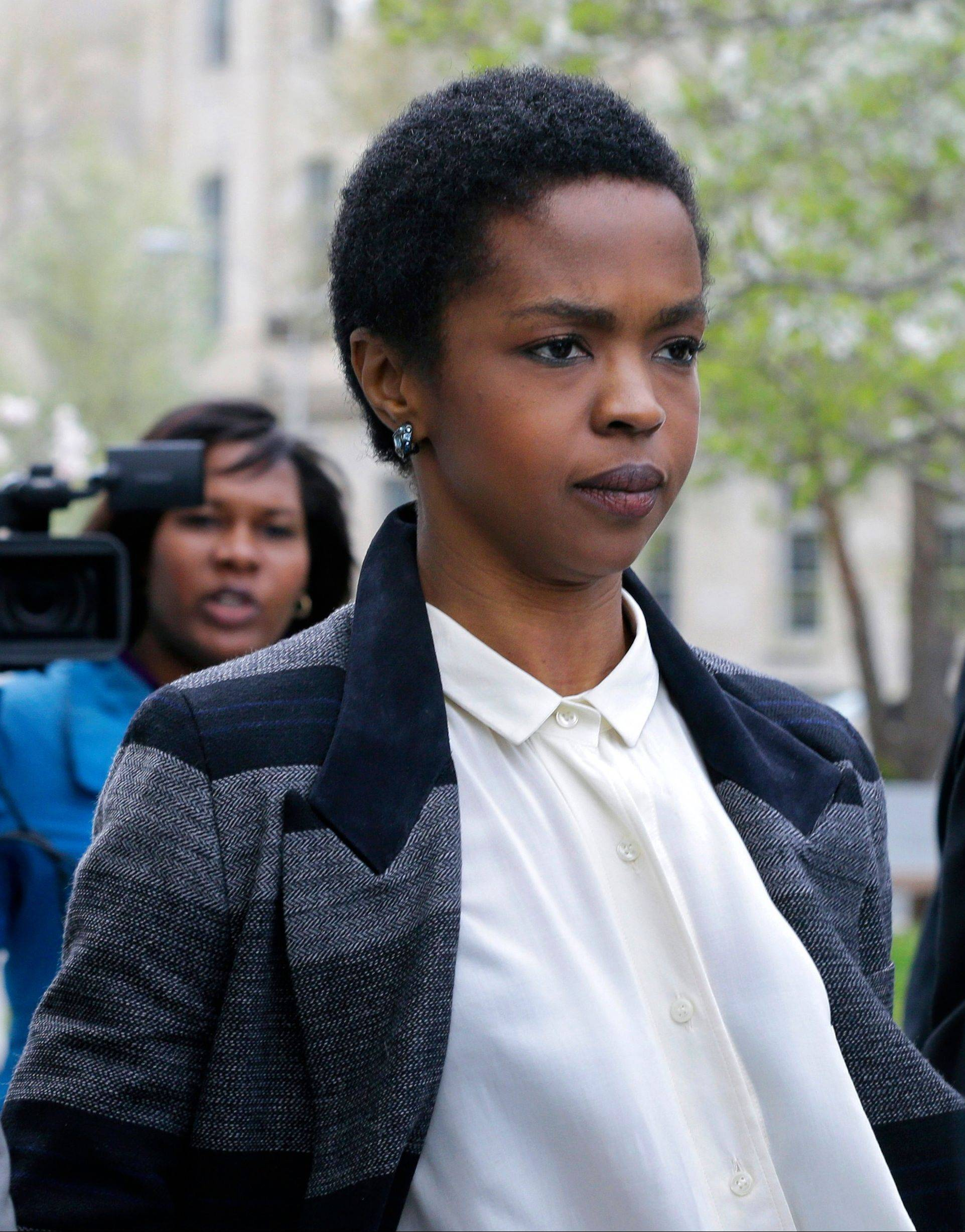 Singer Lauryn Hill has started serving a three-month prison sentence in Connecticut for failing to pay about $1 million in taxes over the past decade. The Grammy-winning singer reported Monday to the federal prison in Danbury.