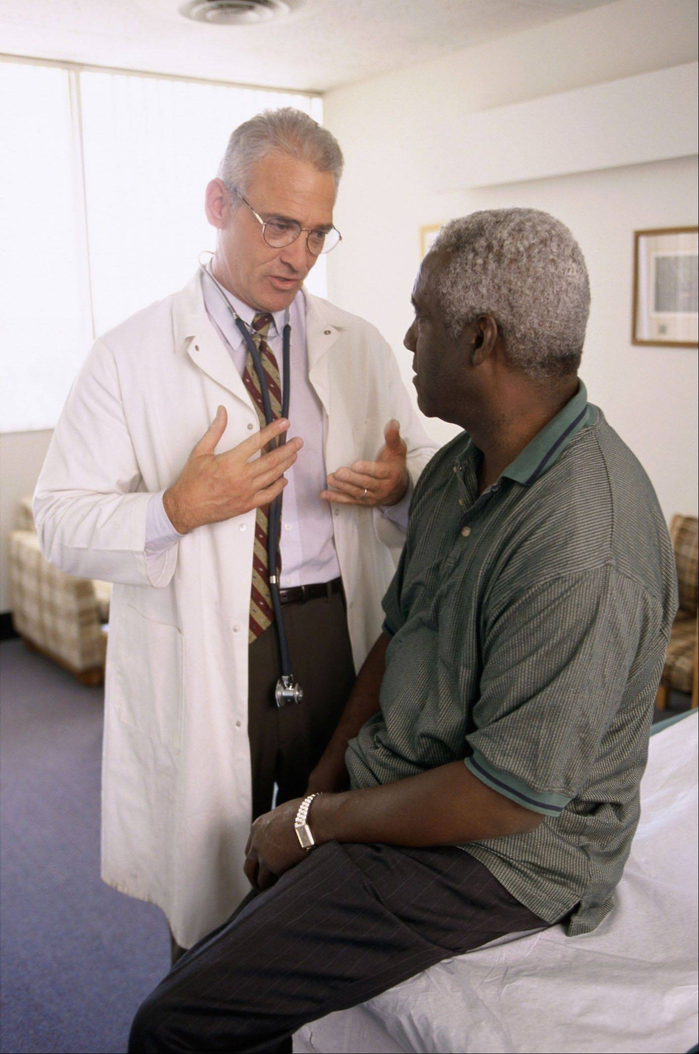 Many men are reluctant to get regular medical checkups