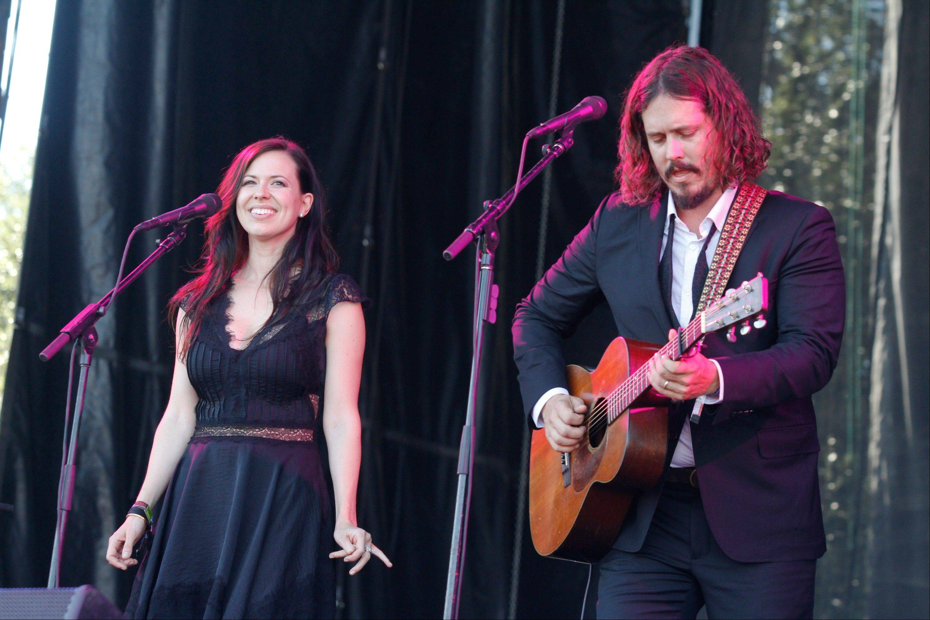 Joy Williams and John Paul White of The Civil Wars are on hiatus and are not speaking to each other but will release their new self-titled second album on Aug. 6.