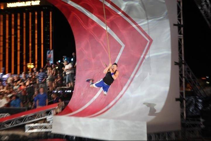 "Andrew Lowes, of Grayslake, goes through the obstacle course on Season 4 of ""American Ninja Warrior."" This year, he's back for Season 5, which airs at 7 p.m. Mondays on NBC."