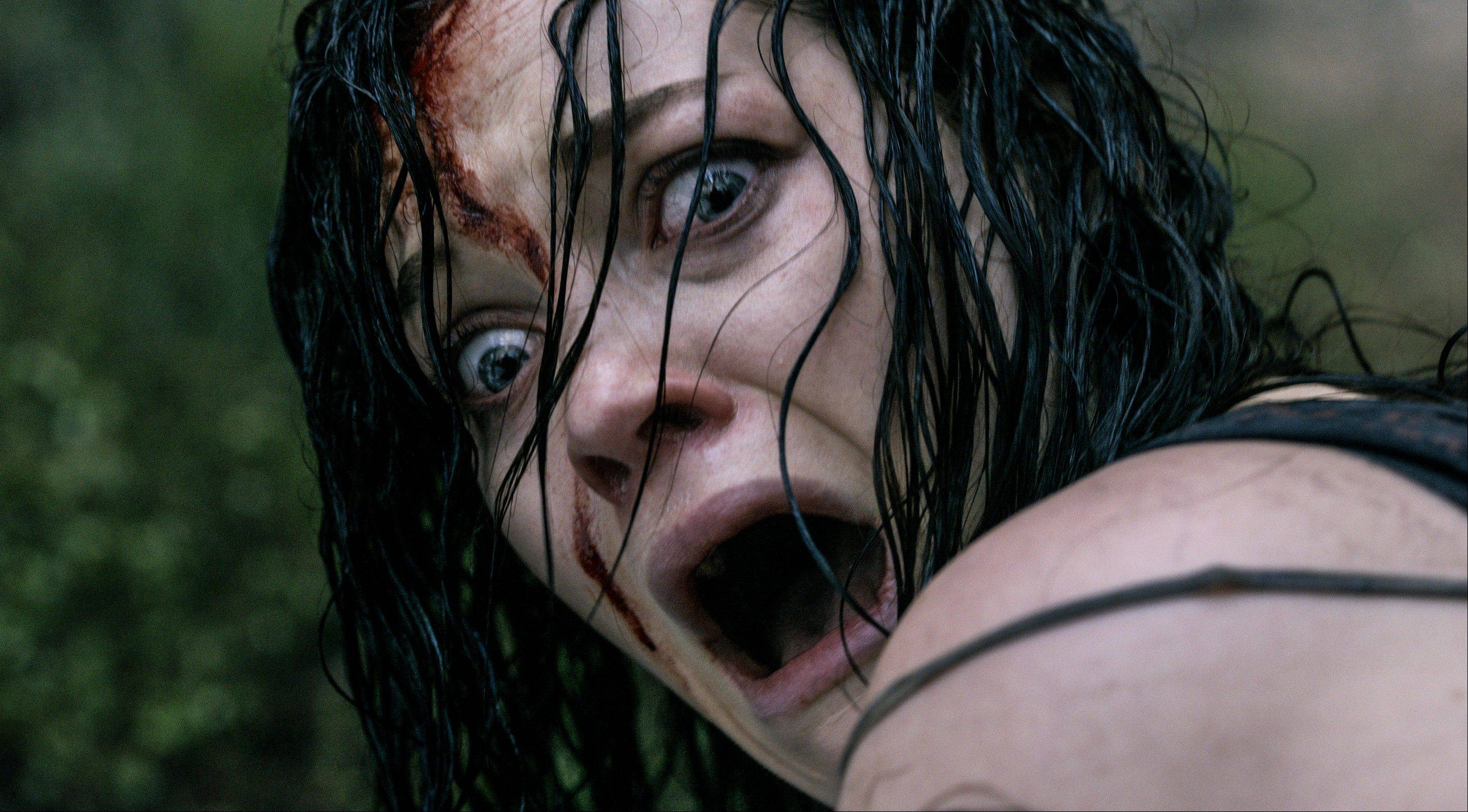"Jane Levy stars in the super-gory rebooted version of ""Evil Dead."""