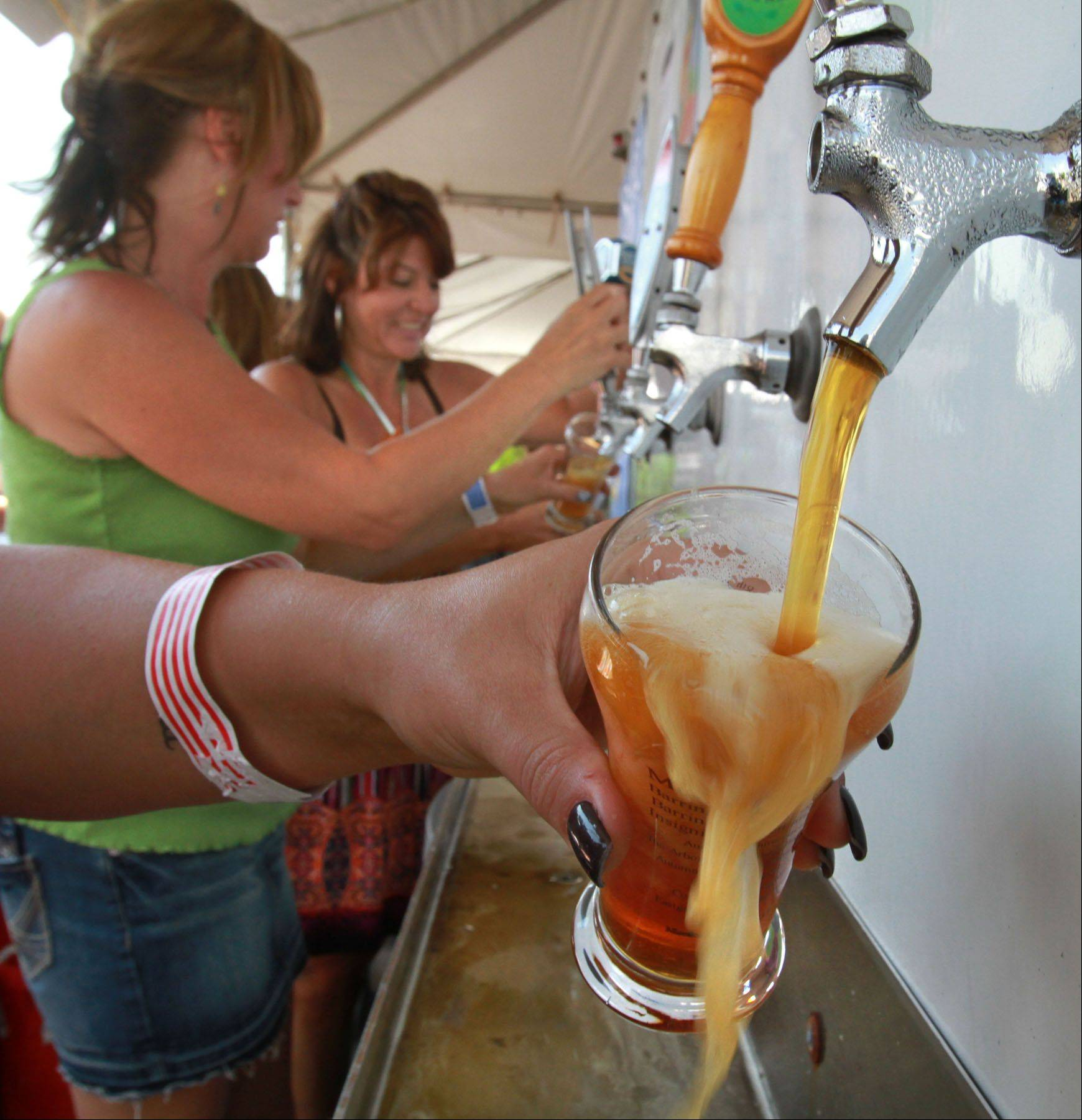 Tapped beers will be flowing at Barrington's Brew Fest.