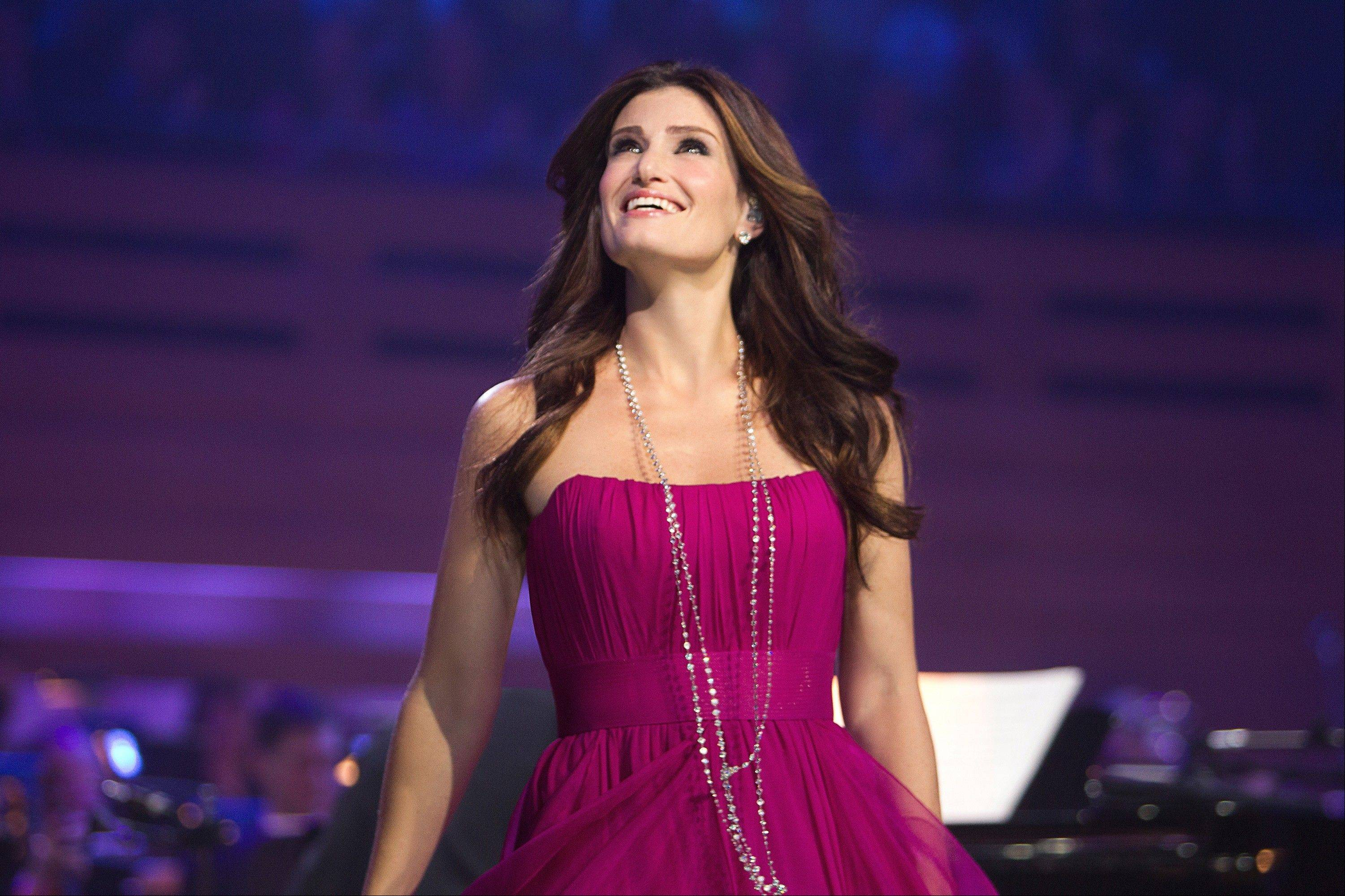 "Tony Award-winner and TV star Idina Menzel (""Wicked,"" ""Glee"") is set to perform at RiverEdge Park in Aurora."