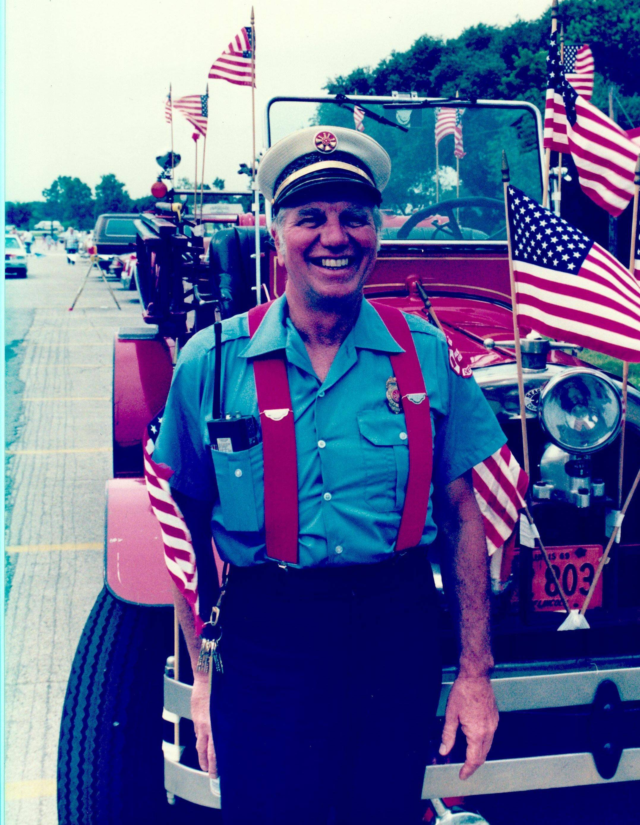 David Mills worked for the Arlington Heights Fire Department for 32 years.