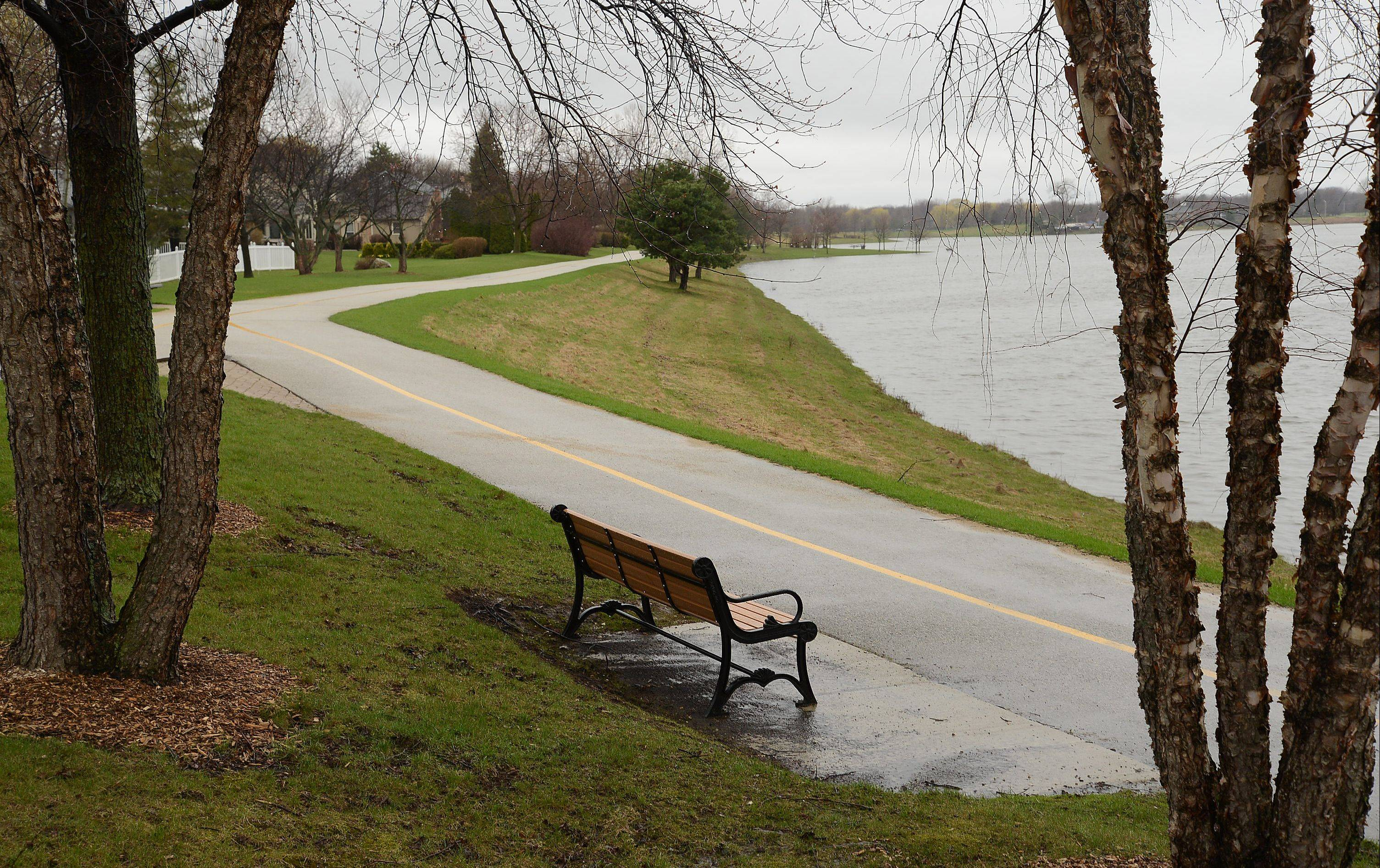 The peaceful walking path around Lake Arlington is getting too busy in the evening and on nice days, say nearby residents not surprised by the death of a walker hit by a bicyclist last month.