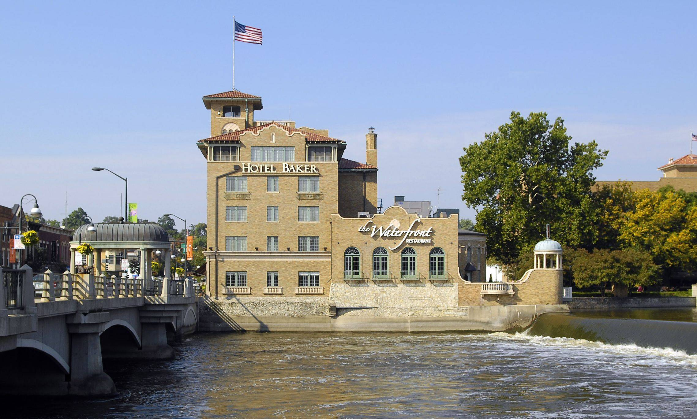 Hotel Baker in St. Charles is a longtime Fox River attraction.