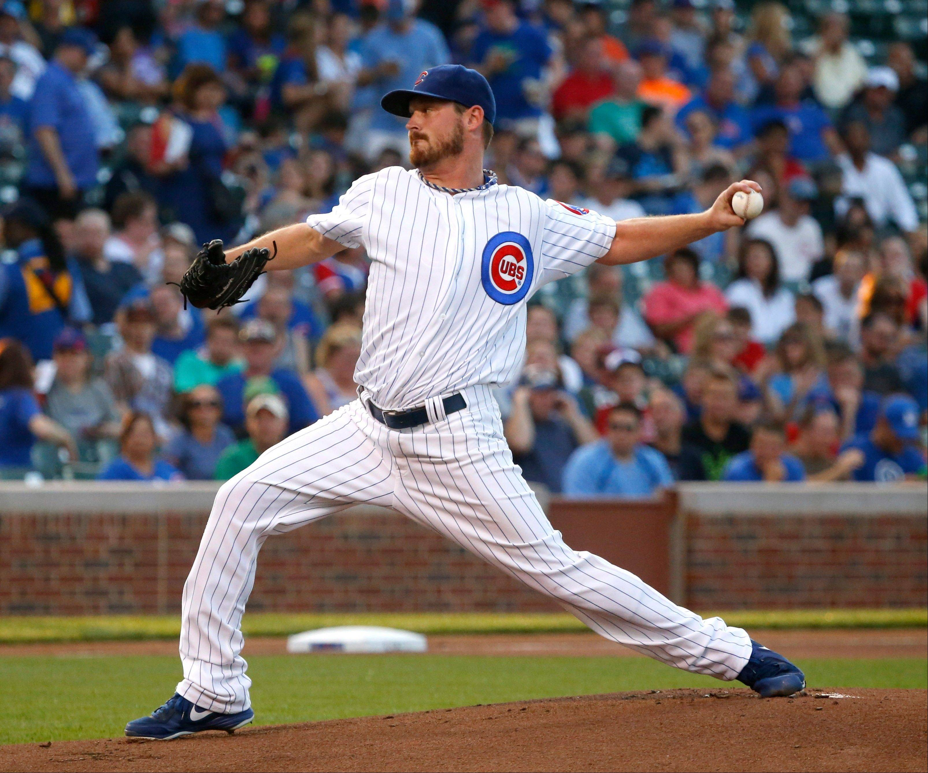 Cubs pitcher Travis Wood turned in his 17th quality start with Tuesday night's victory over the Angels at Wrigley Field.