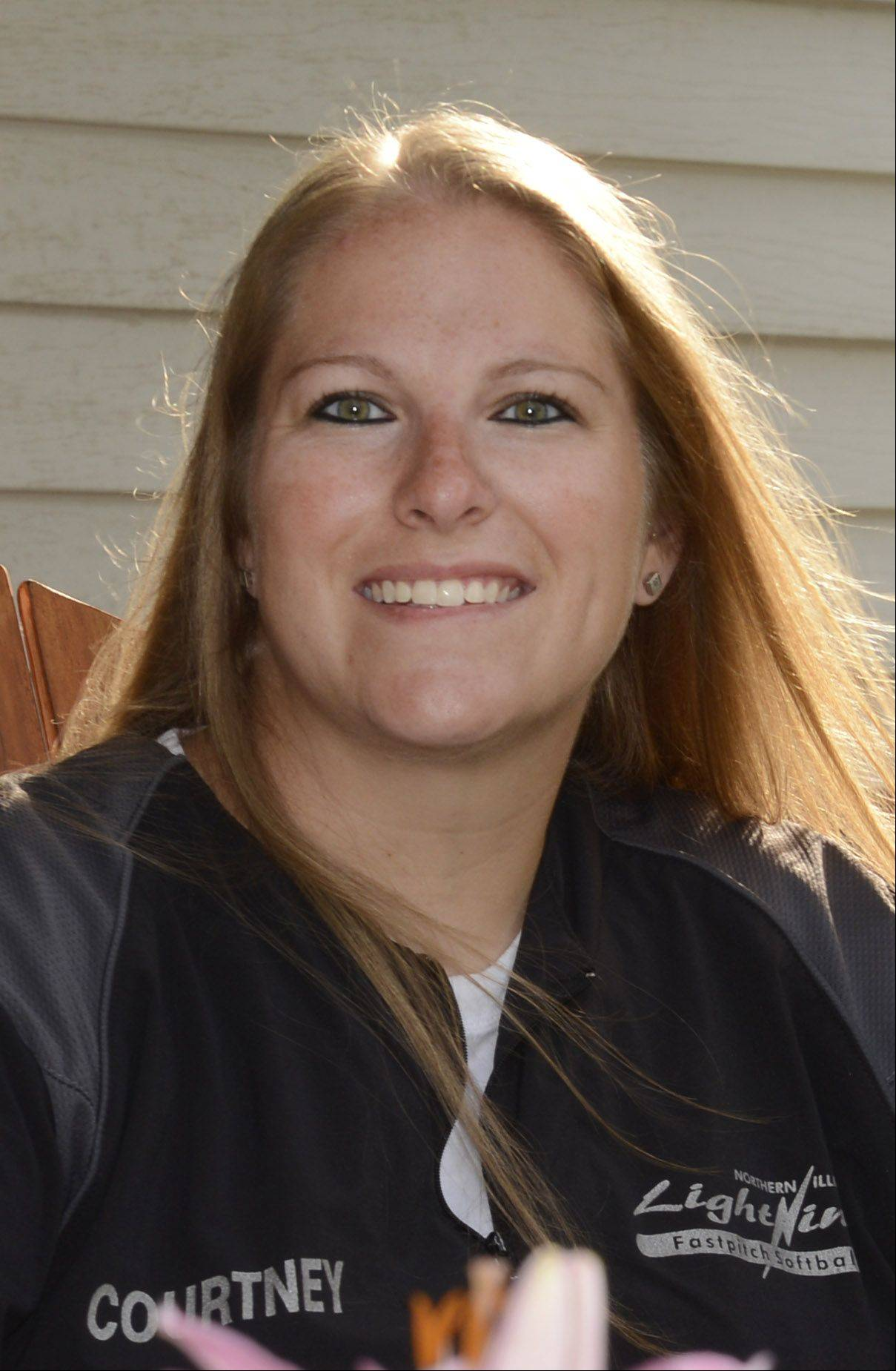 Courtney LaFerle is an Elgin native and Larkin High School graduate who was diagnosed with thyroid cancer last month. She continues to coach softball for the Northern Illinois Lightning Fastpitch Softball league. The softball community has rallied to help with her medical bills as she readies for surgery.