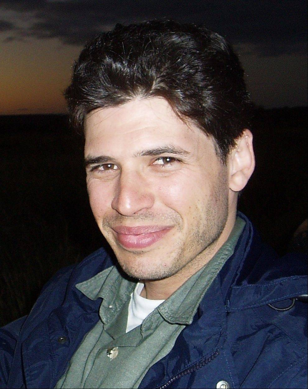 """World War Z"" novelist Max Brooks speaks at Harper College Friday."