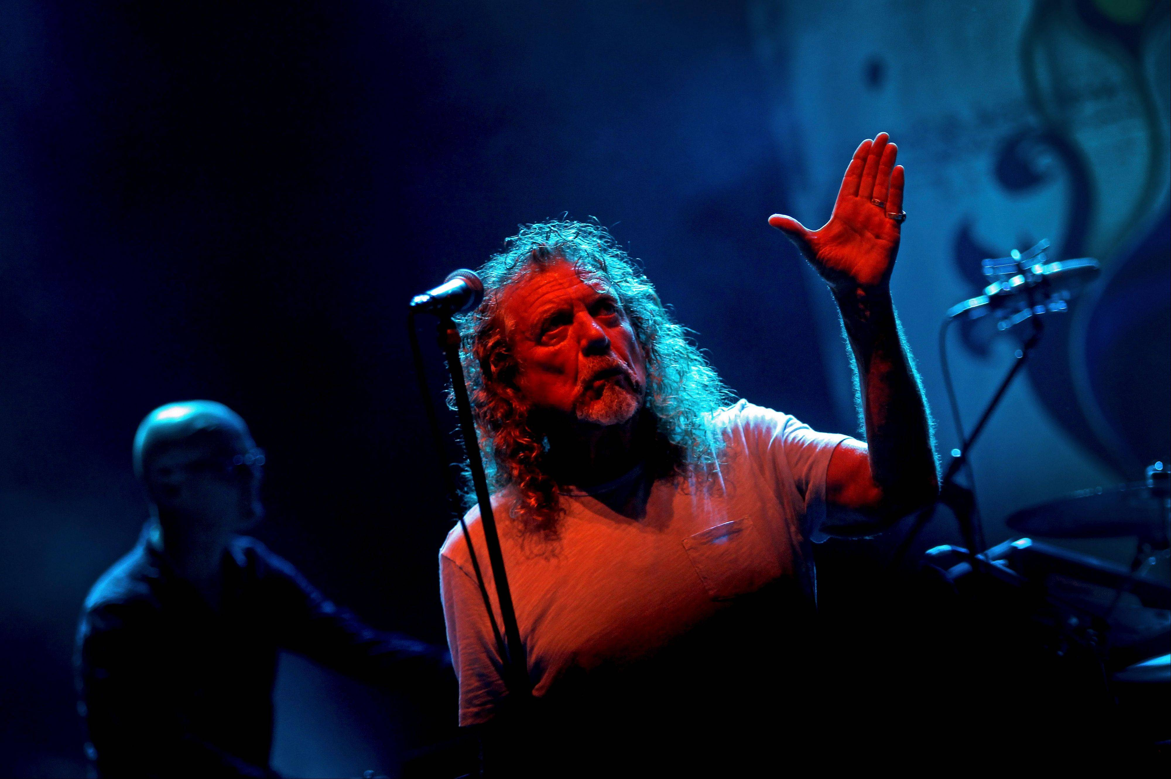 Robert Plant is on the road this summer with a new band, The Sensational Space Shifters. They headline the Petrillo Music Shell in Chicago on Friday, July 12.