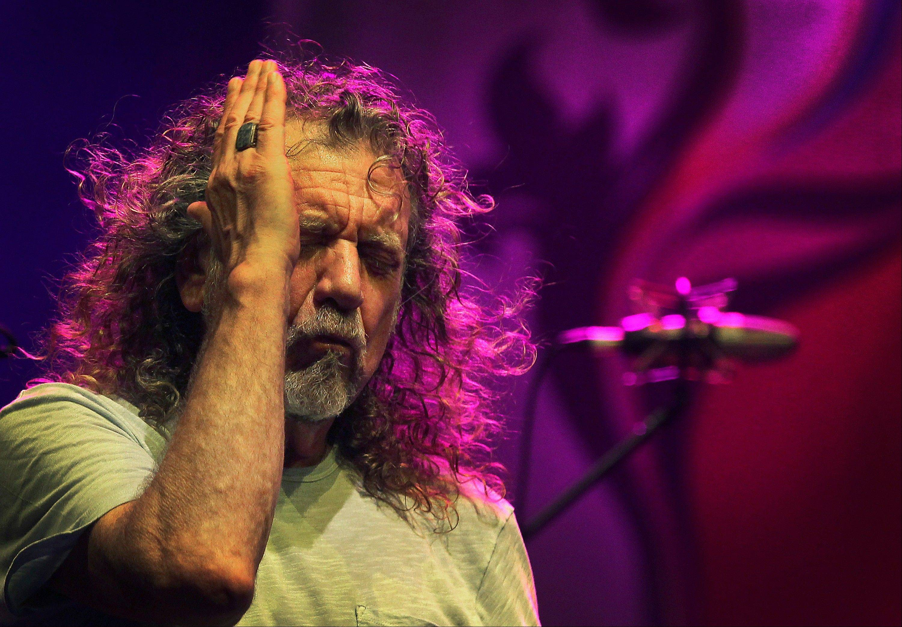 Robert Plant has rejiggered Led Zeppelin songs a bit to keeps them fresh.