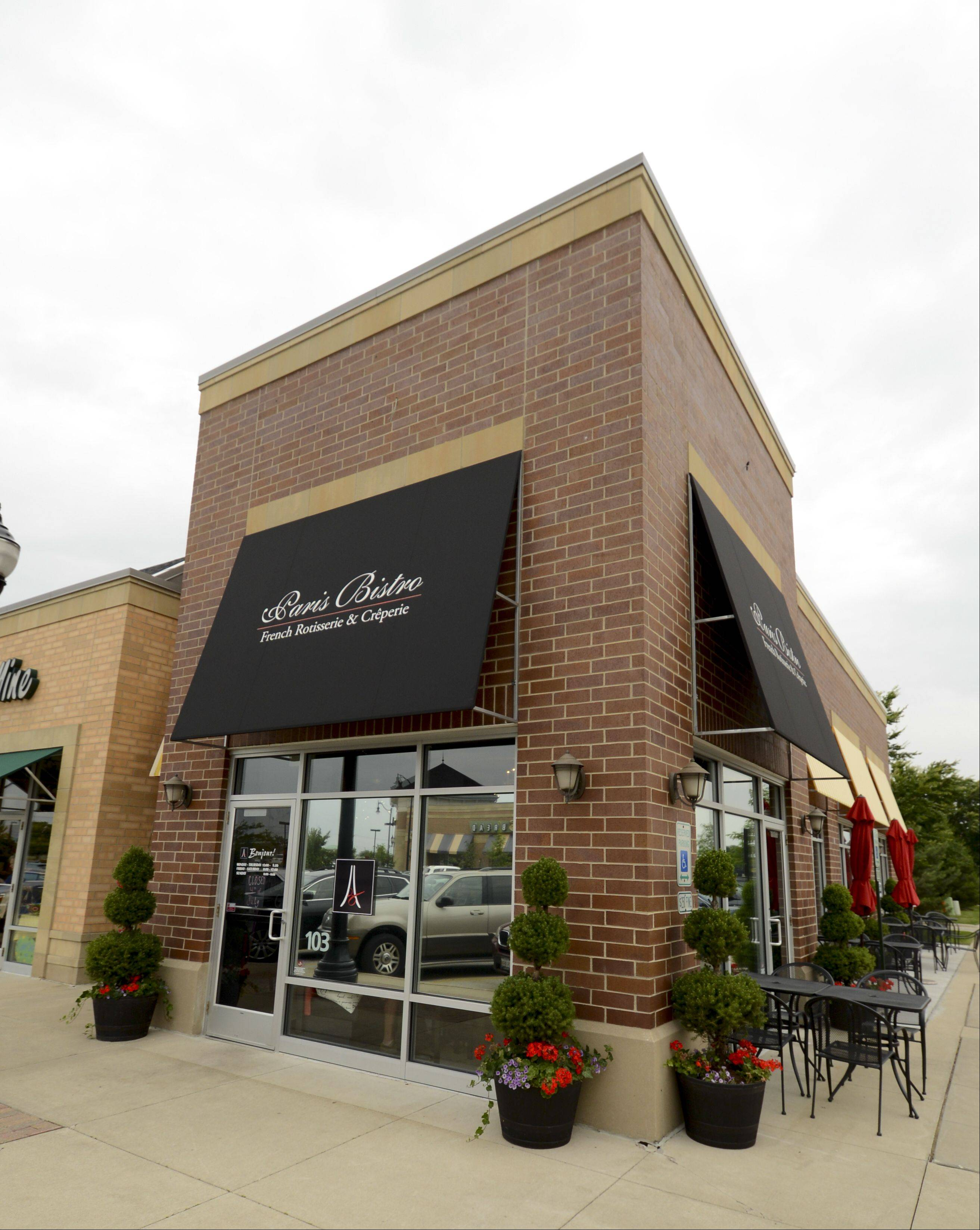 Paris Bistro opened on Showplace Drive in Naperville earlier this year.