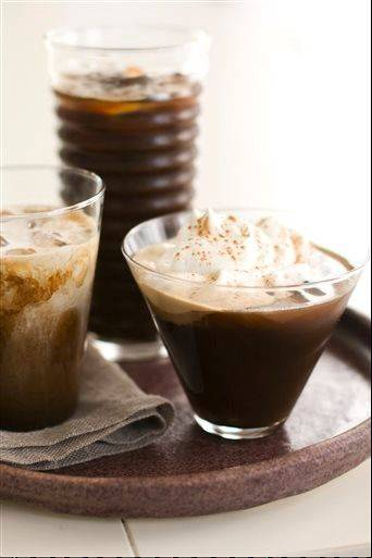 A great glass of iced coffee starts with cold-brewed coffee that steeps up to 12 hours.