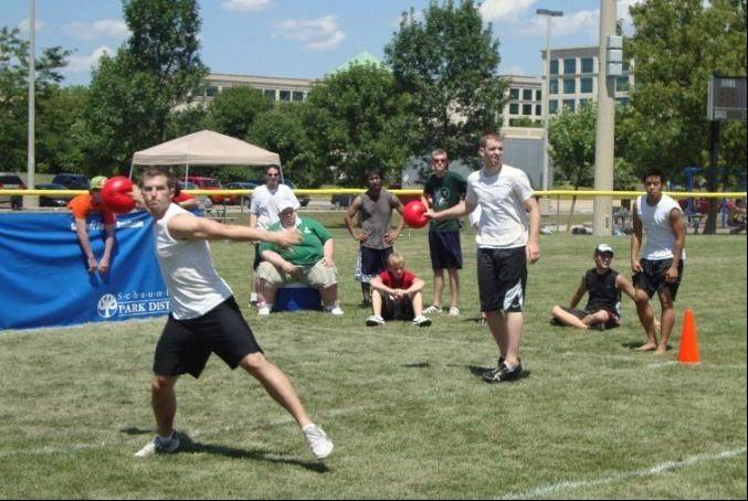 Dodgeball Days returns to Olympic Park in Schaumburg, celebrating one of America's oldest and well-known playground games.