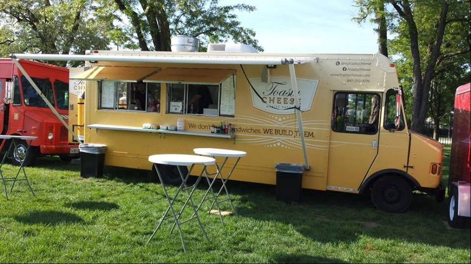 The Toasty Cheese truck is among a number of trucks participating in the festival on Saturday.