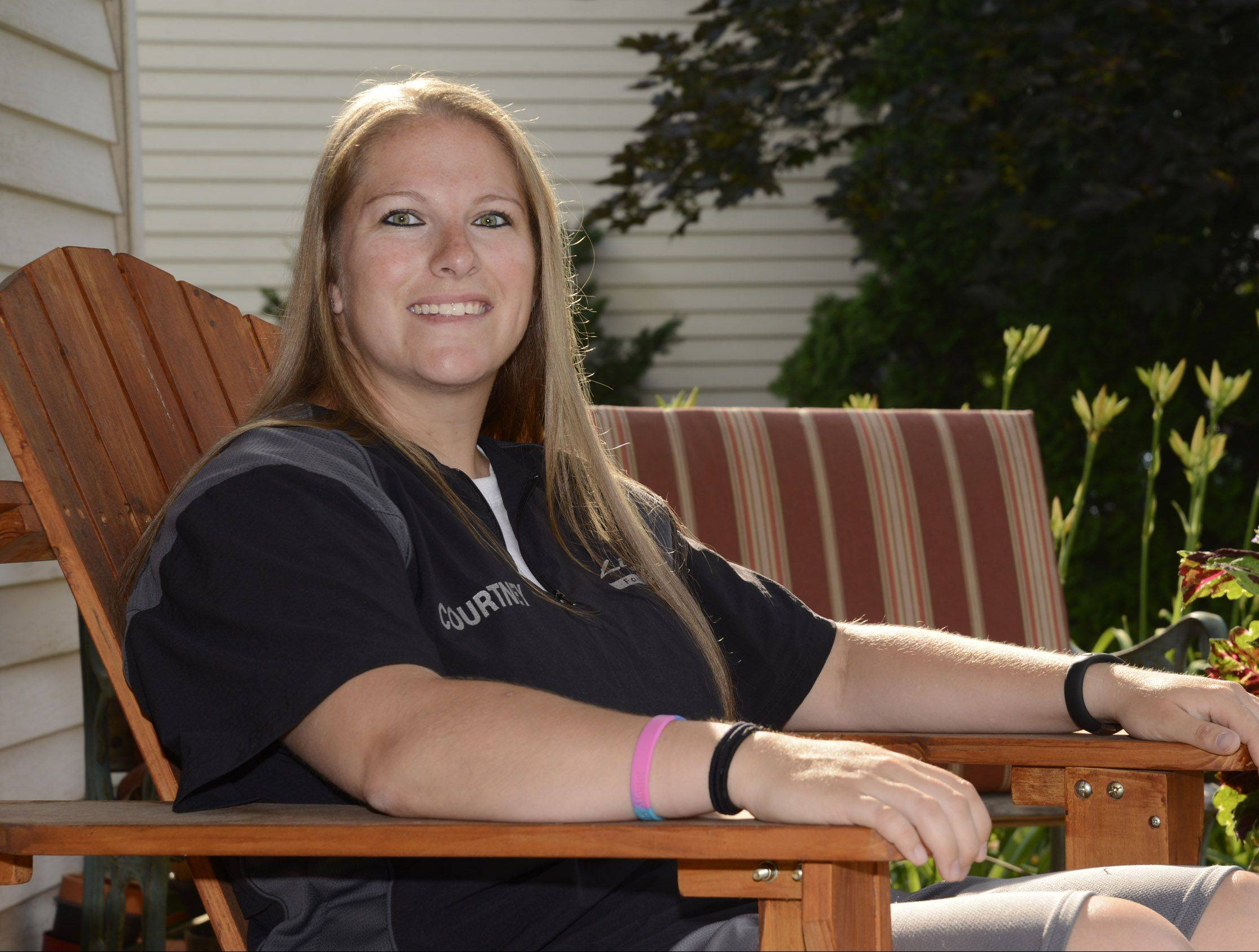 Courtney LaFerle is an Elgin native and Larkin High School graduate who was diagnosed with thyroid cancer last month. She continues to coach softball for the Northern Illinois Lightning Fastpitch Softball league. The softball community has jumped to her support to help with her medical bills as she readies for surgery.