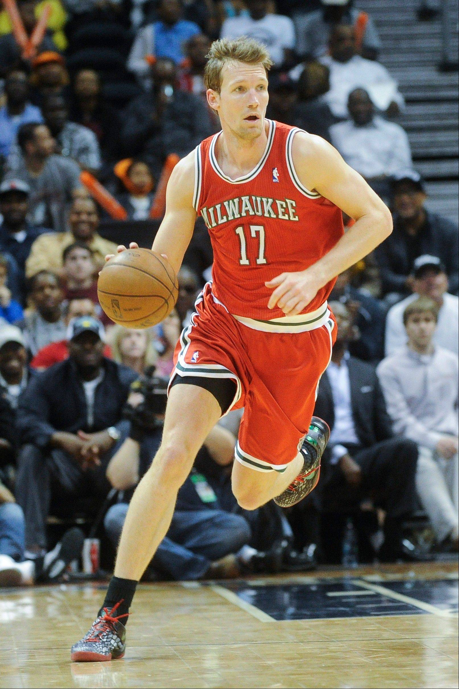 New Bulls free-agent addition Mike Dunleavy averaged 12.3 points in the Milwaukee Bucks' first-round playoff loss to the Miami Heat this season.