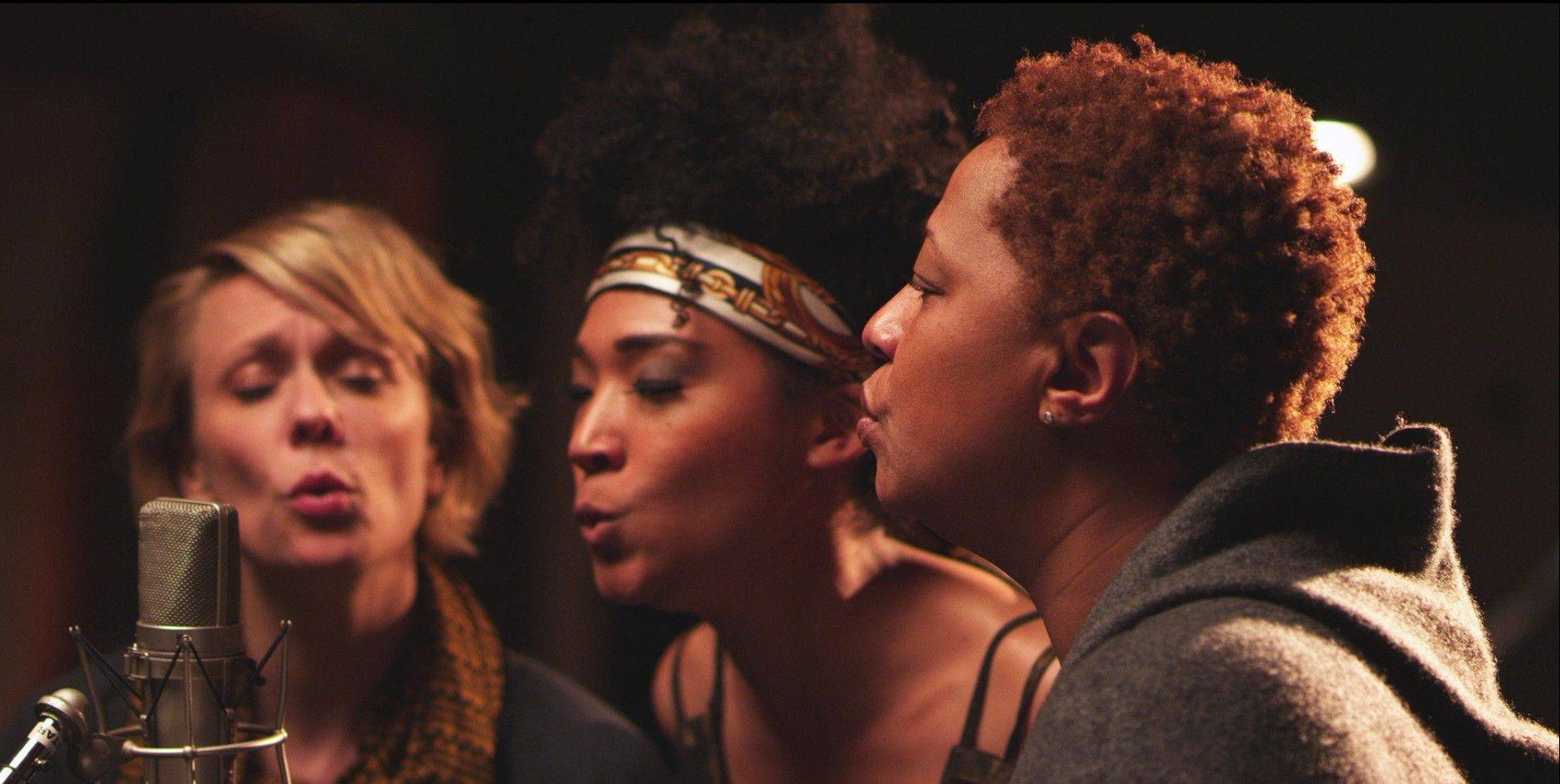 "Jo Lawry, Judith Hill and Lisa Fischer are three of many backup singers profiled in Morgan Neville's documentary ""Twenty Feet From Stardom."""