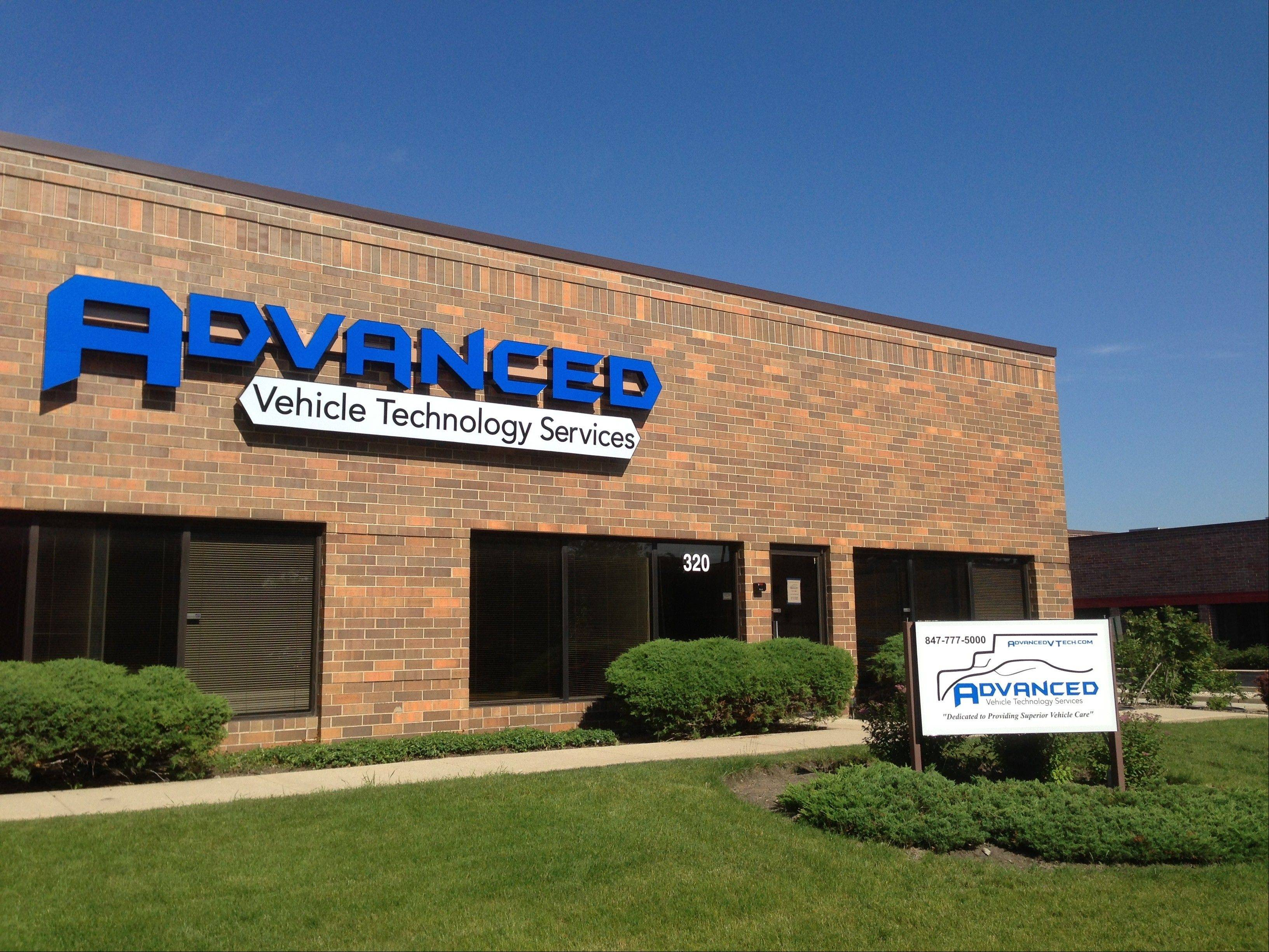 Advanced Vehicle Technology Services Inc. in Buffalo Grove.