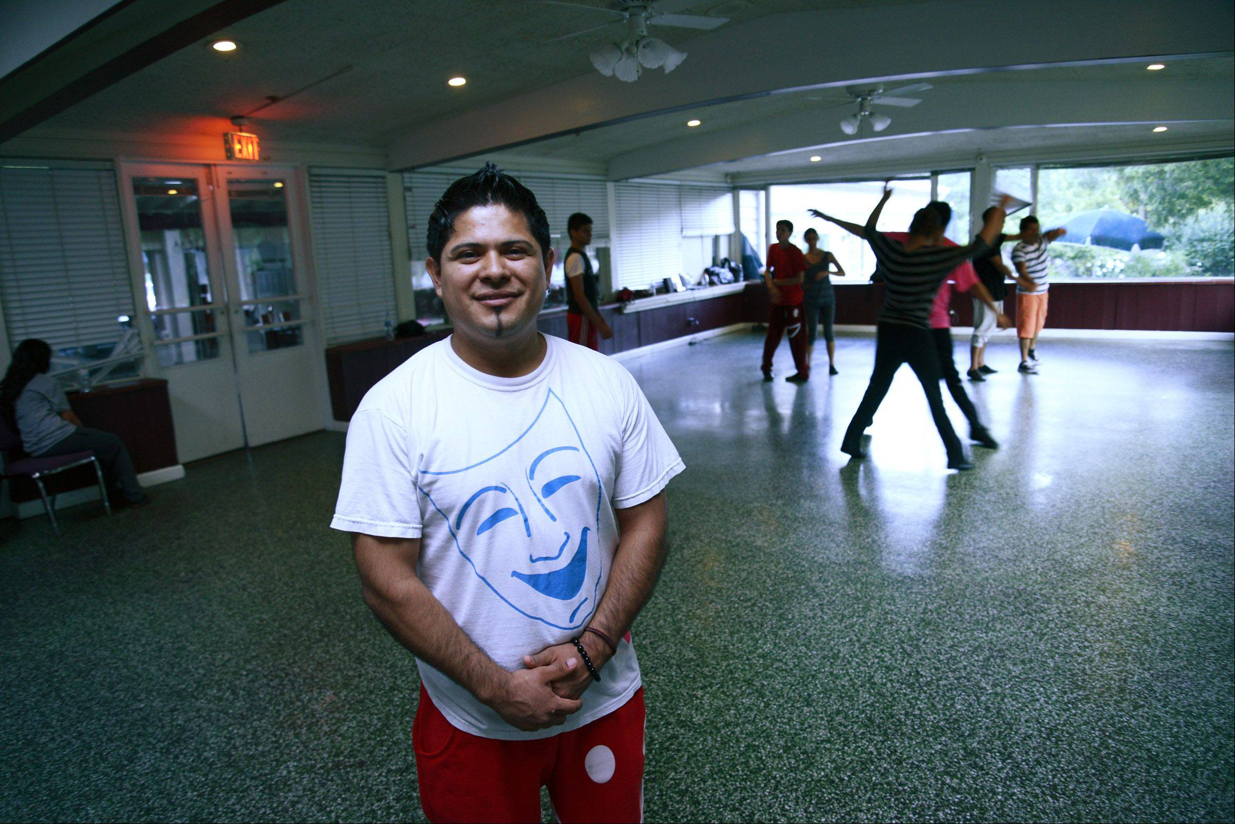 Ivan Moctezuma is co-owner of Ivangel Dance Studio, which is moving from East Dundee to Elgin.