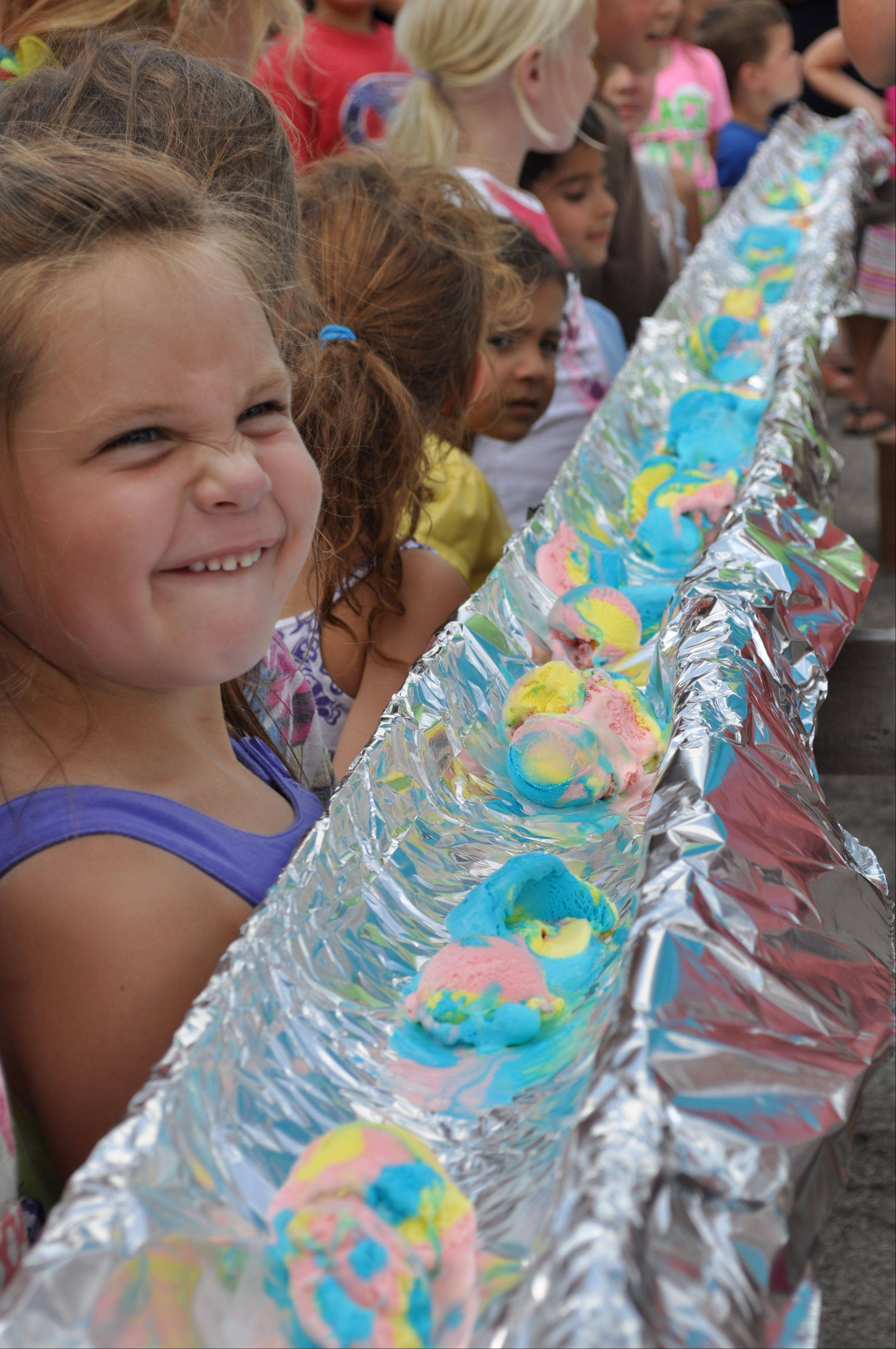 Spoons not required: gather your friends for this year's ice cream eating contest at Batavia's Windmill City Festival. Teams can sign up for the 2 p.m. Sunday contest in front of the main stage.
