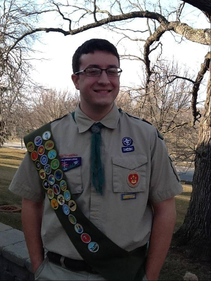 Kevin Tierney of Boy Scout Troop 10 recently was made an Eagle Scout. 1
