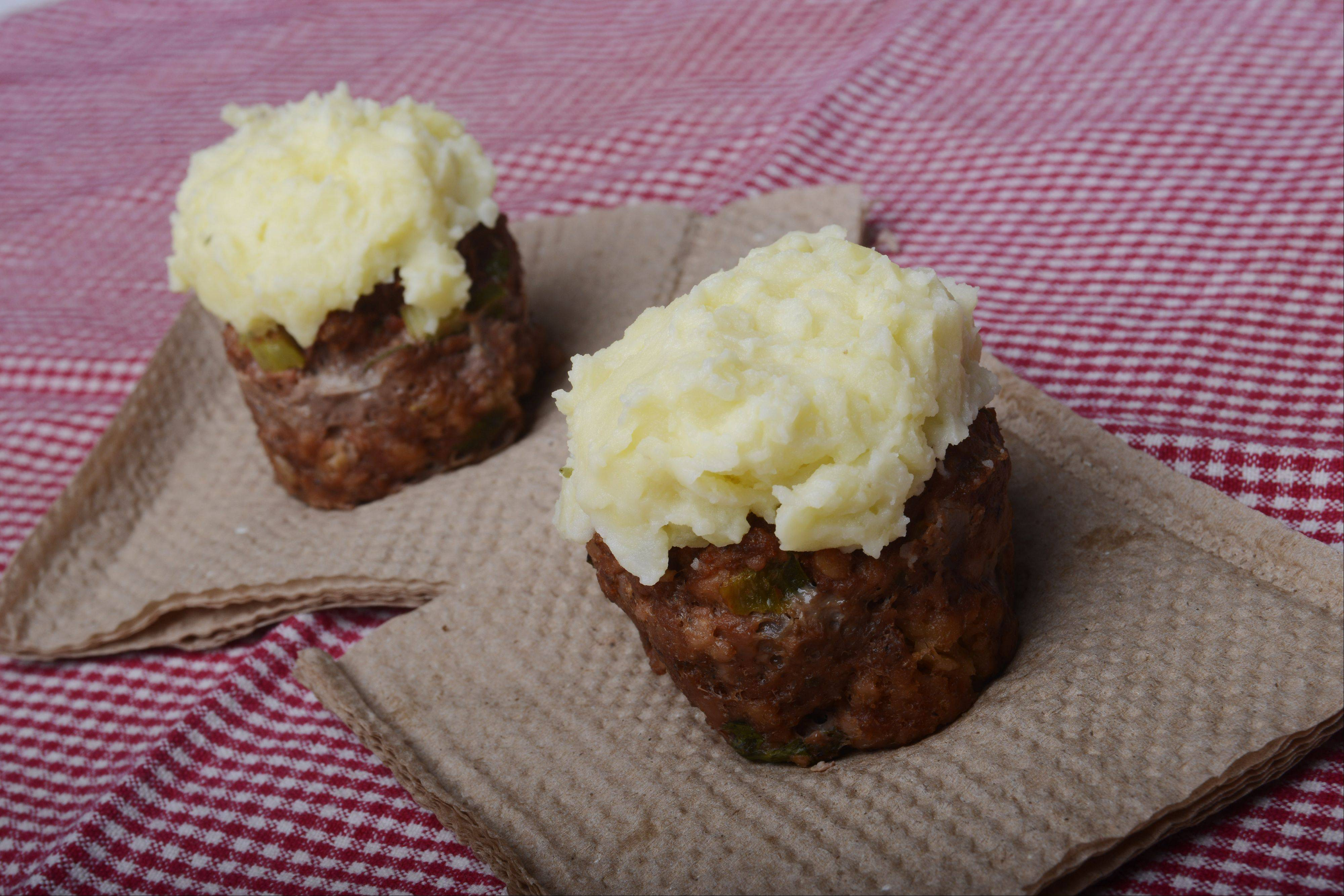 Meatloaf and Mashers Cupcakes