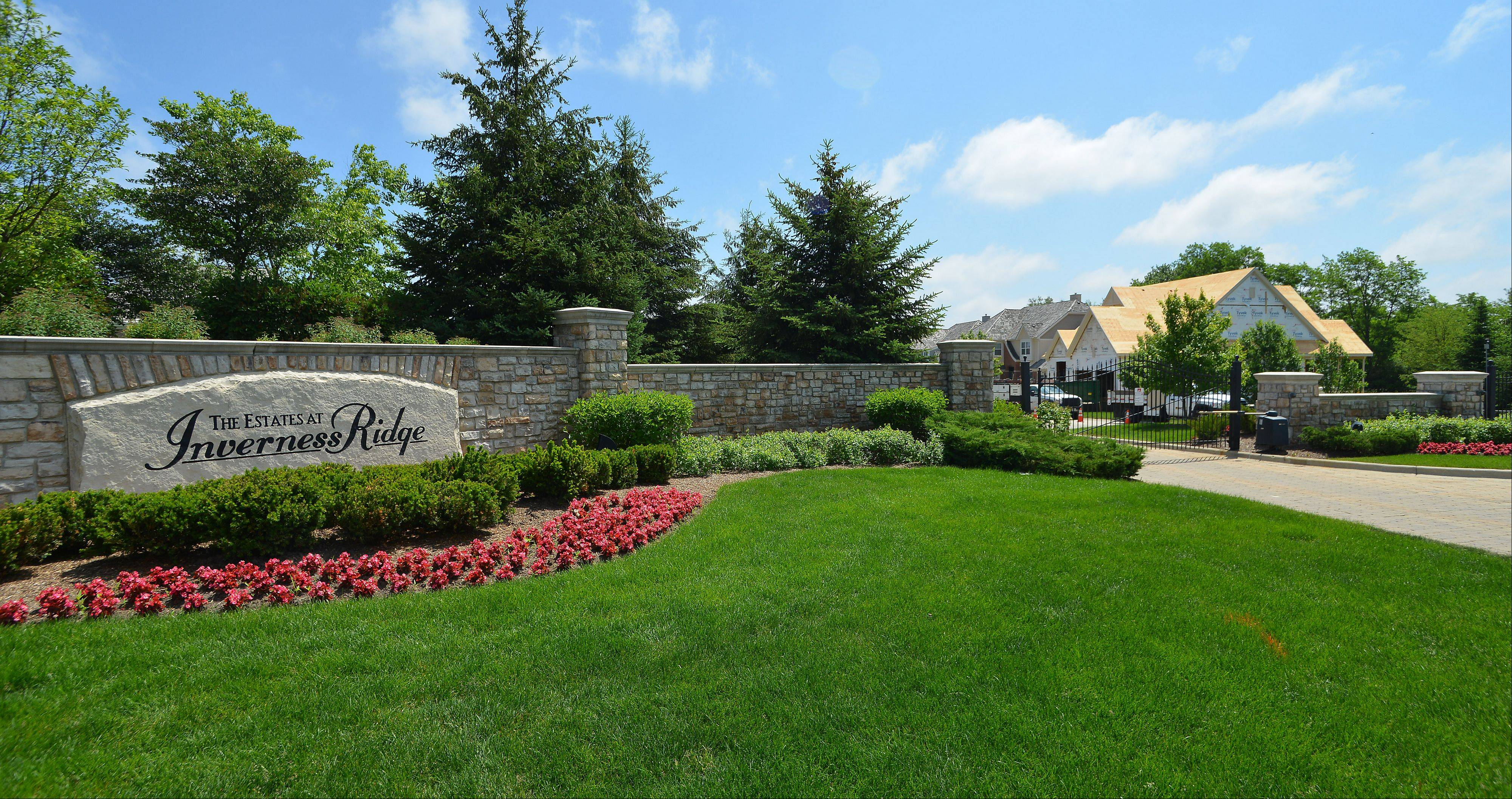 Creekside at Inverness Ridge in Inverness was developed in the mid-2000s by Deerfield-based Meritus Homes.
