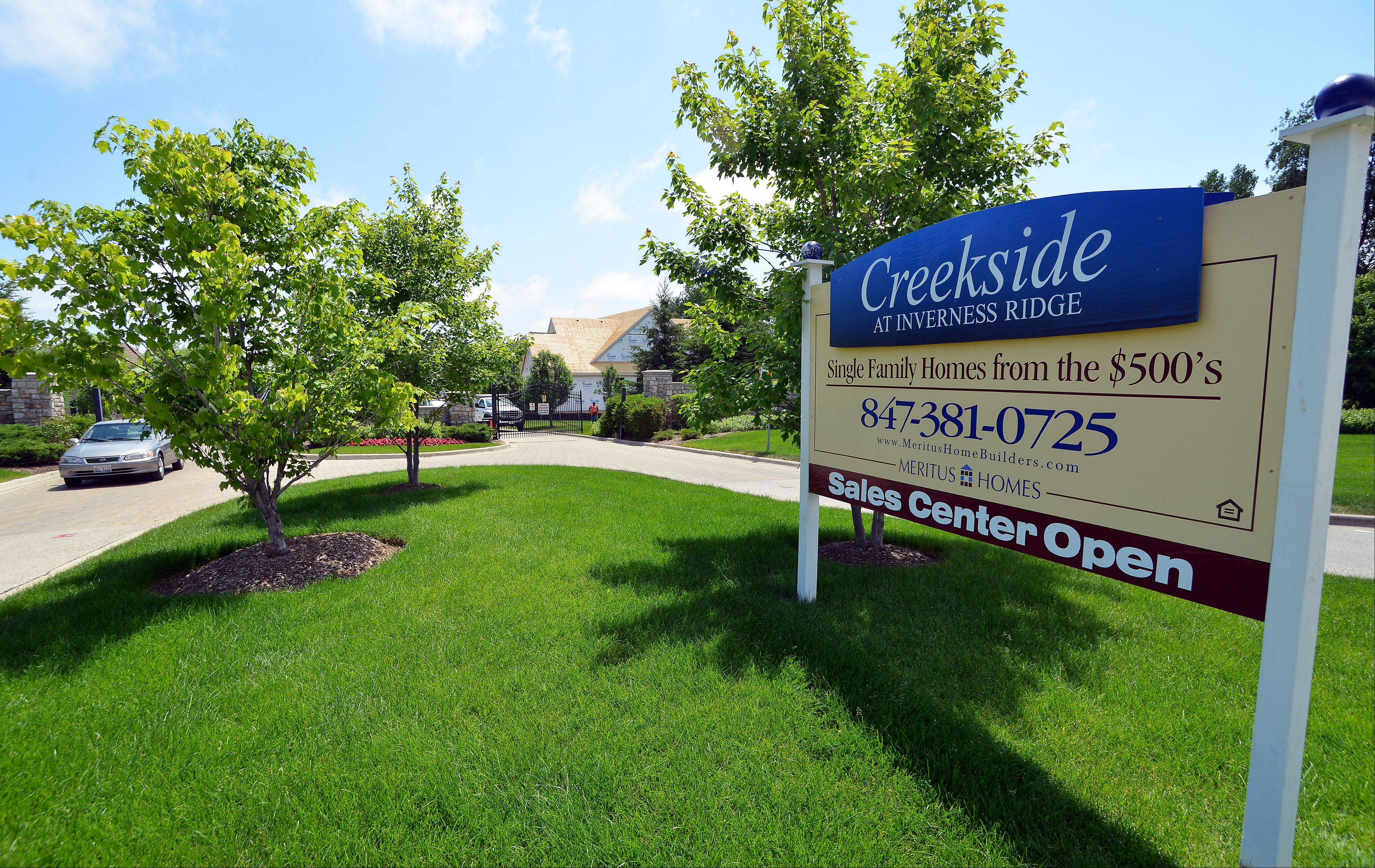 Creekside at Inverness Ridge in Inverness is a gated community with low-maintenance homesites.