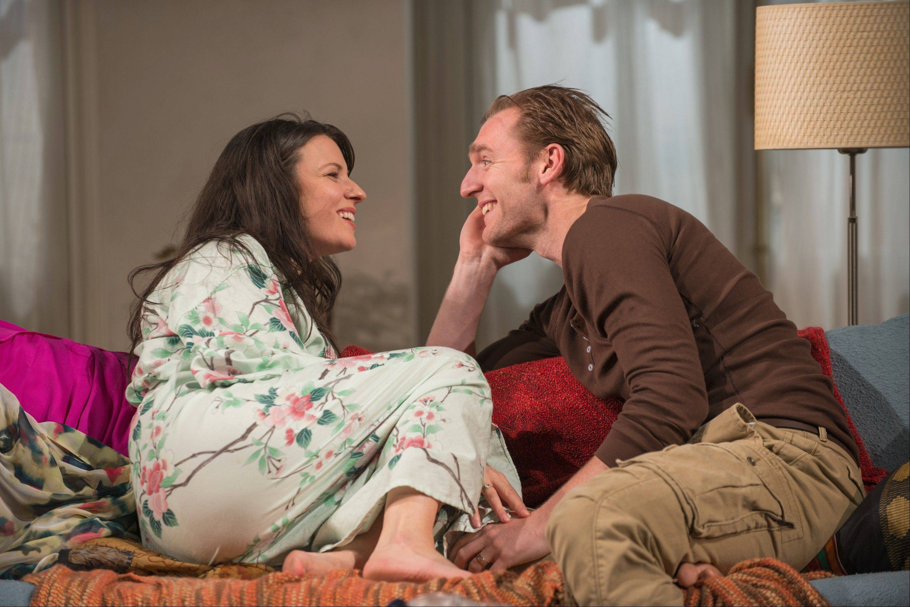 "Kate Arrington and Cliff Chamberlain play young American marrieds living in Paris who don't know each other as well as they should in Amy Herzog's ""Belleville,"" running through Aug. 25 at Steppenwolf Theatre."