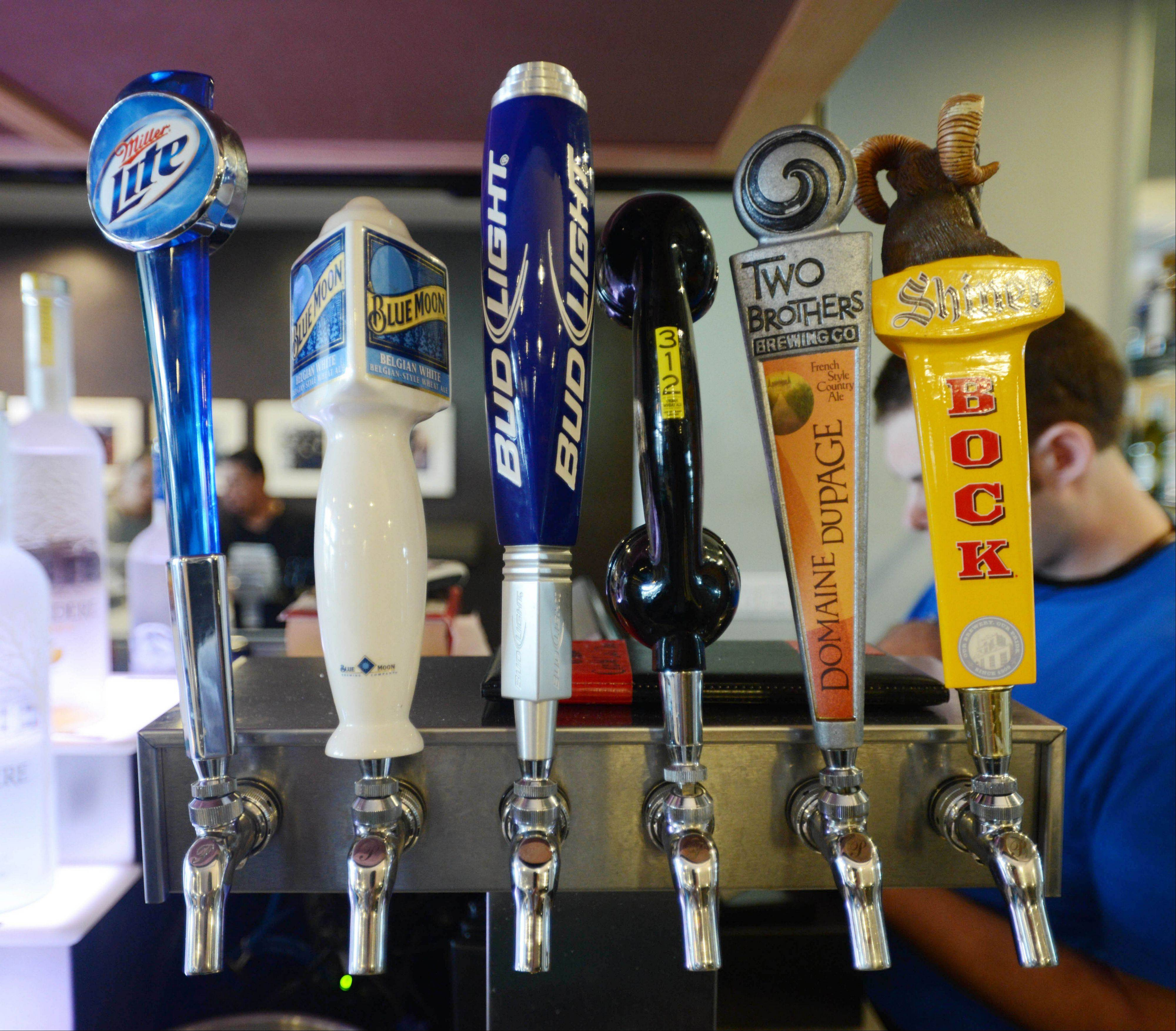 Studio Movie Grill in Wheaton features standard and local brews.