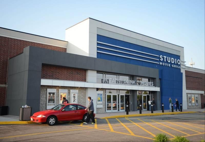 Movie Showtimes and Movie Tickets for Studio Movie Grill - Wheaton located at Rice Lake Square, Wheaton, IL.