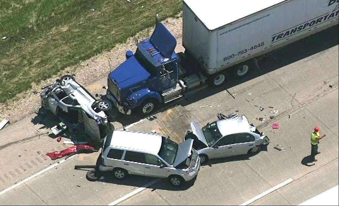 4 killed in multi-vehicle crash on 10 Freeway in Fontana – Press ...