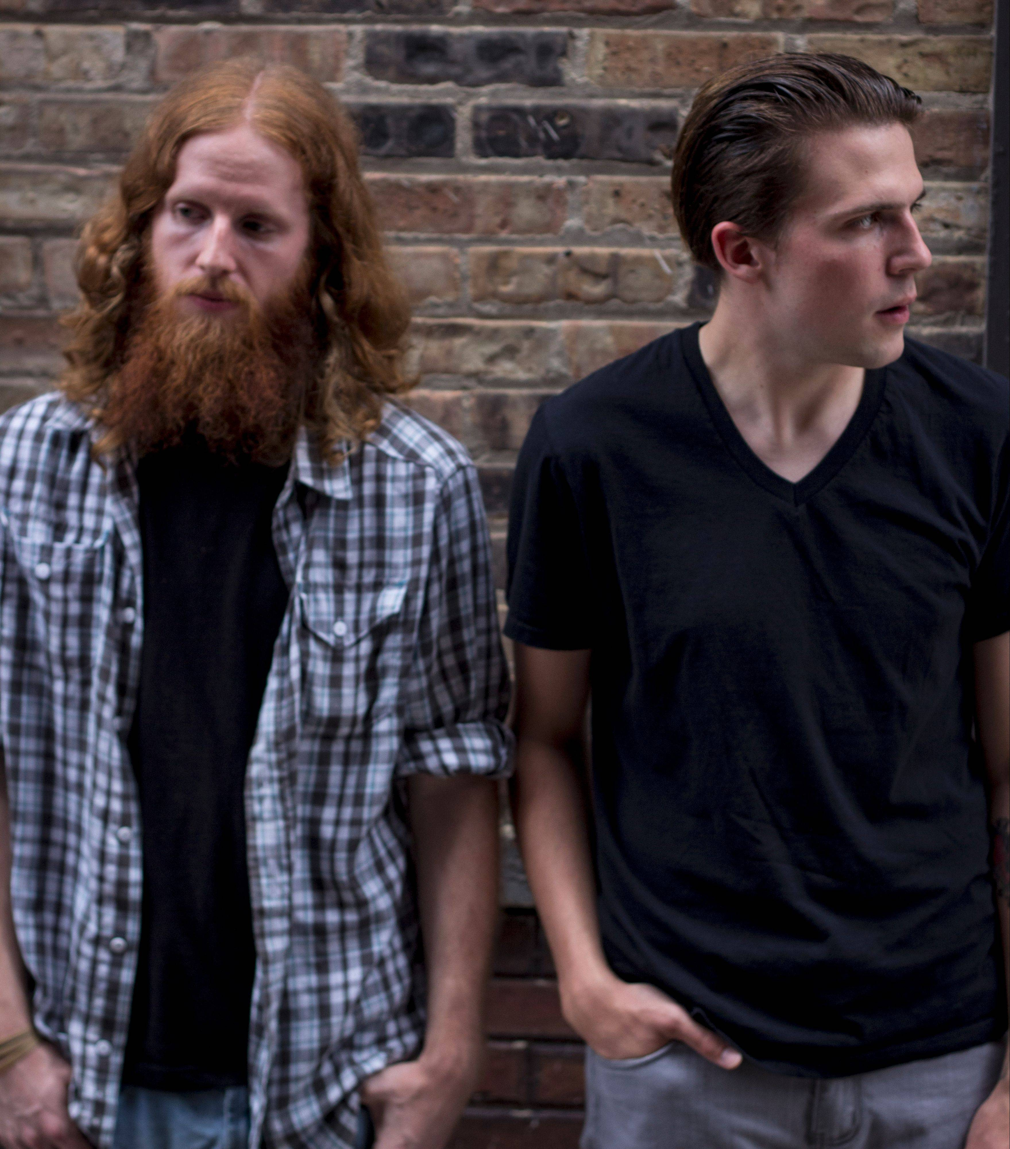 "The Love Shots' bassist Mark Gorney, left, and singer/songwriter Daniel Craig recently put out their second album, ""Summerlakes,"" independently."