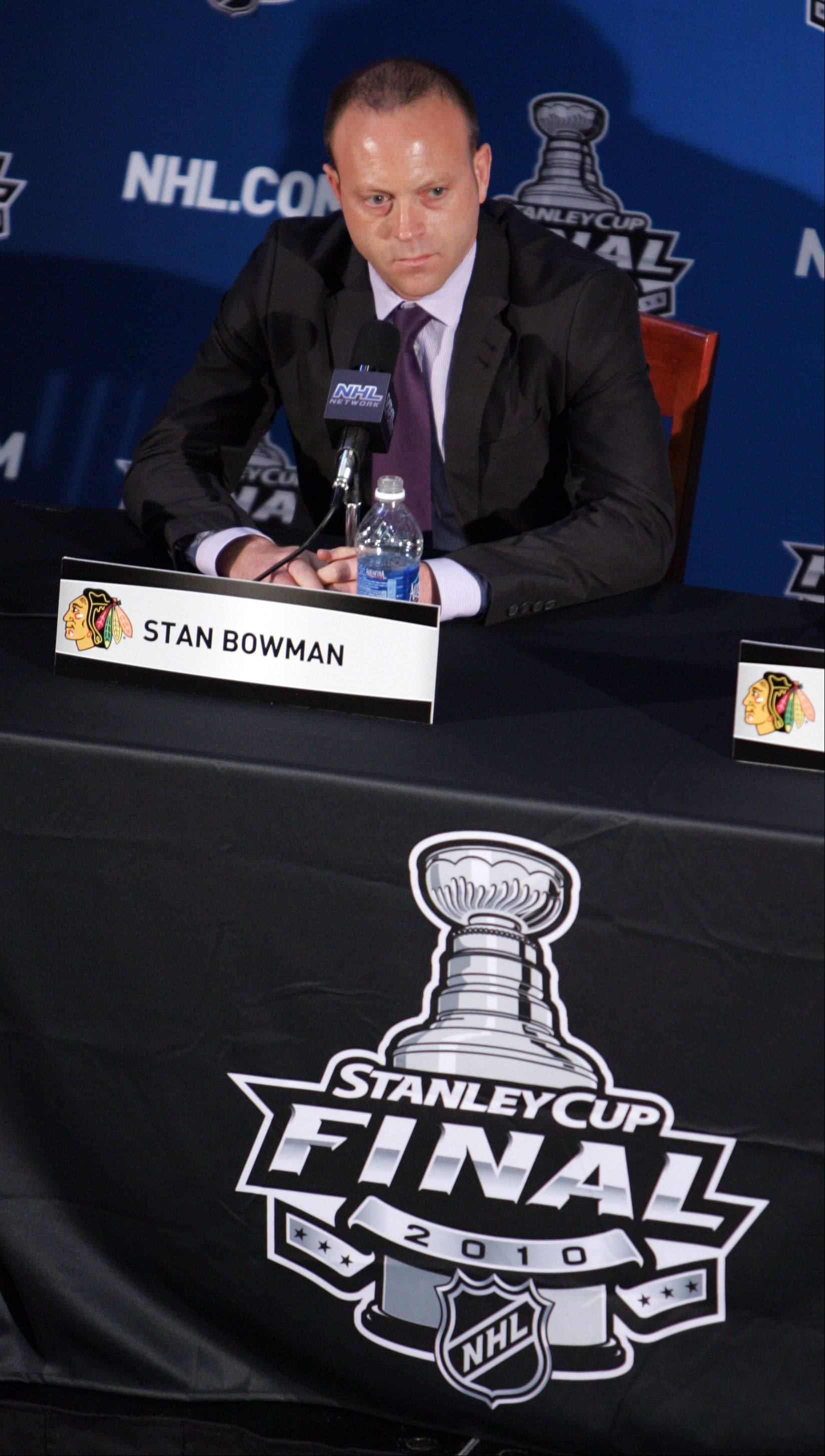 Blackhawks general manager Stan Bowman and his staff have worked for the last three years to ensure not just another shot at a Stanley Cup, but also a chance to get back to the final four every year, according to Barry Rozner.