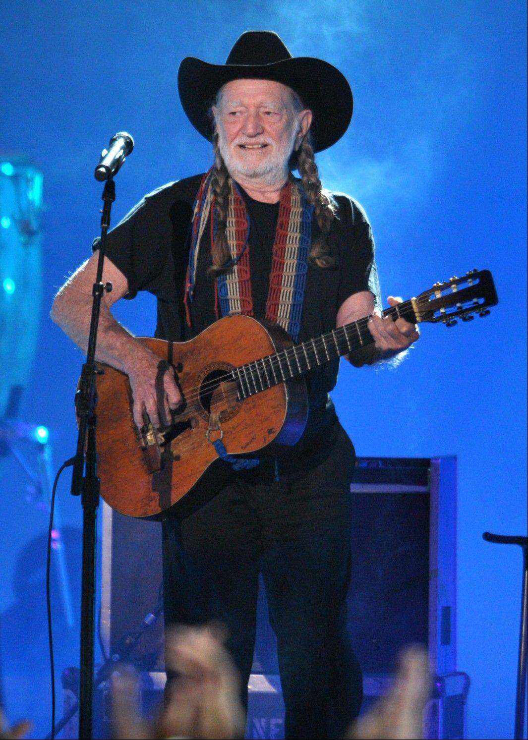 Willie Nelson performs Sunday at the Ravinia Festival in Highland Park.