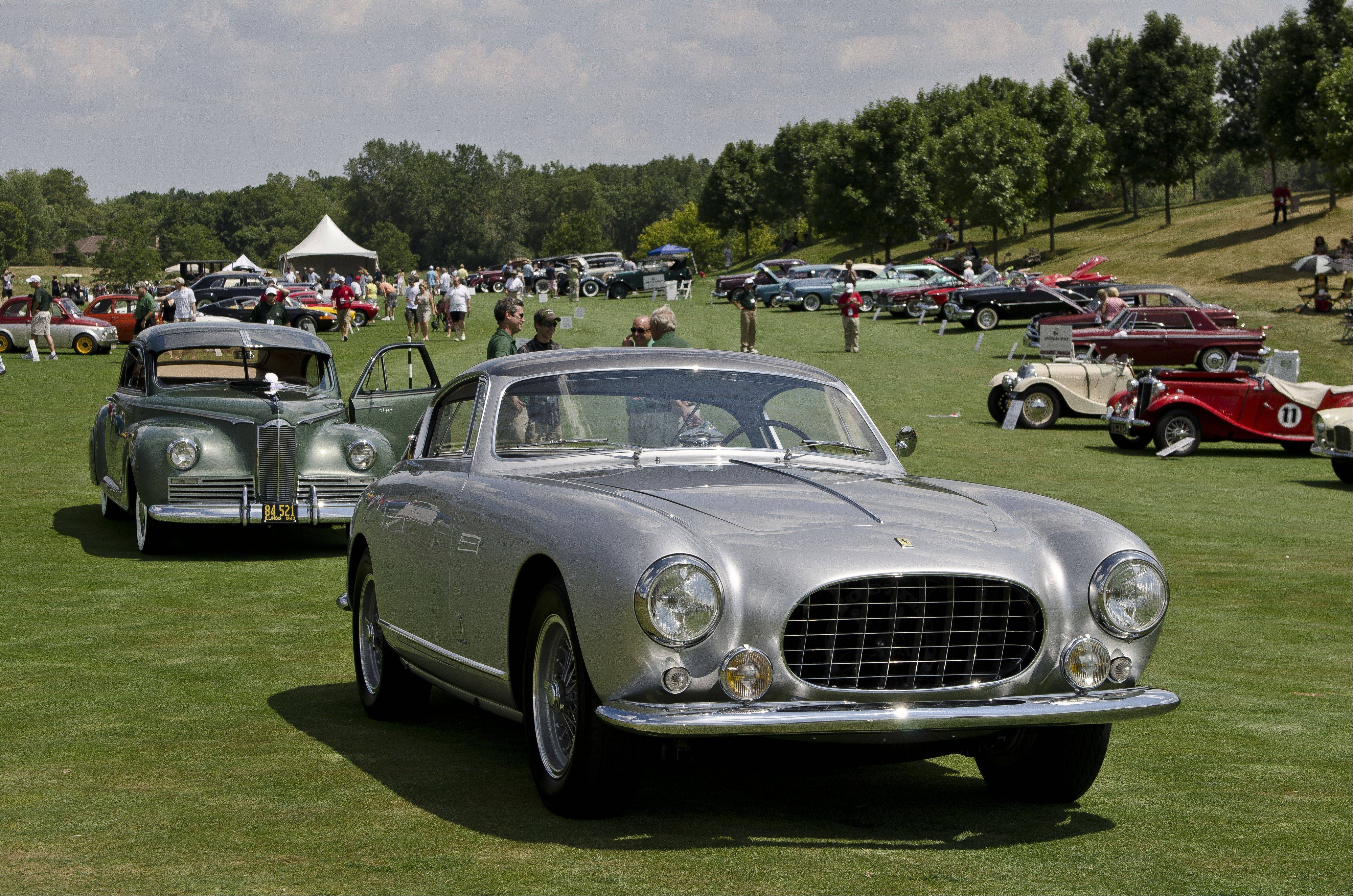 The Barrington Concurs d'Elegance returns on Sunday, July 14.