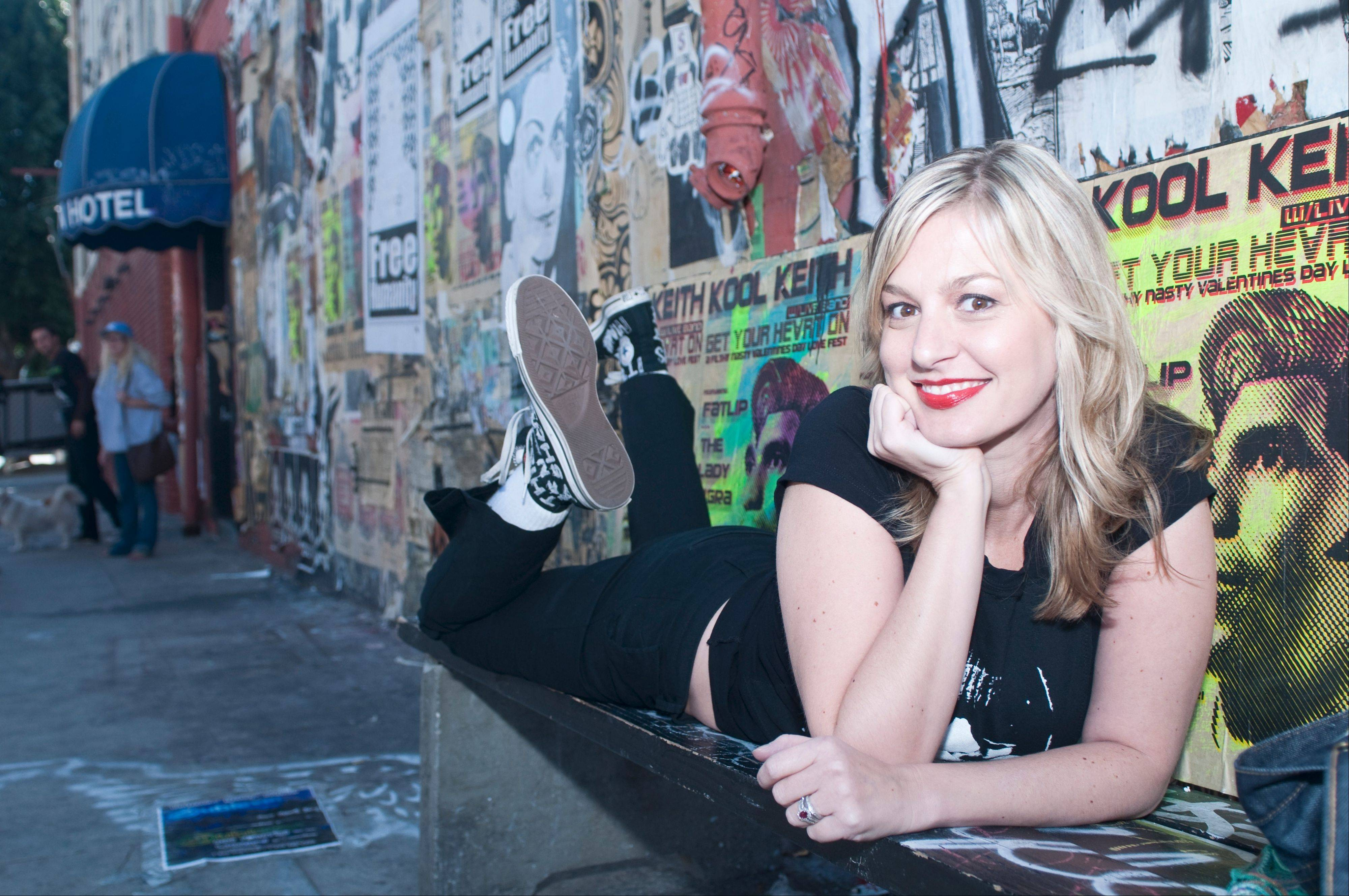 Comedian Christina Pazsitzky is set to perform at the Improv Comedy Showcase in Schaumburg.