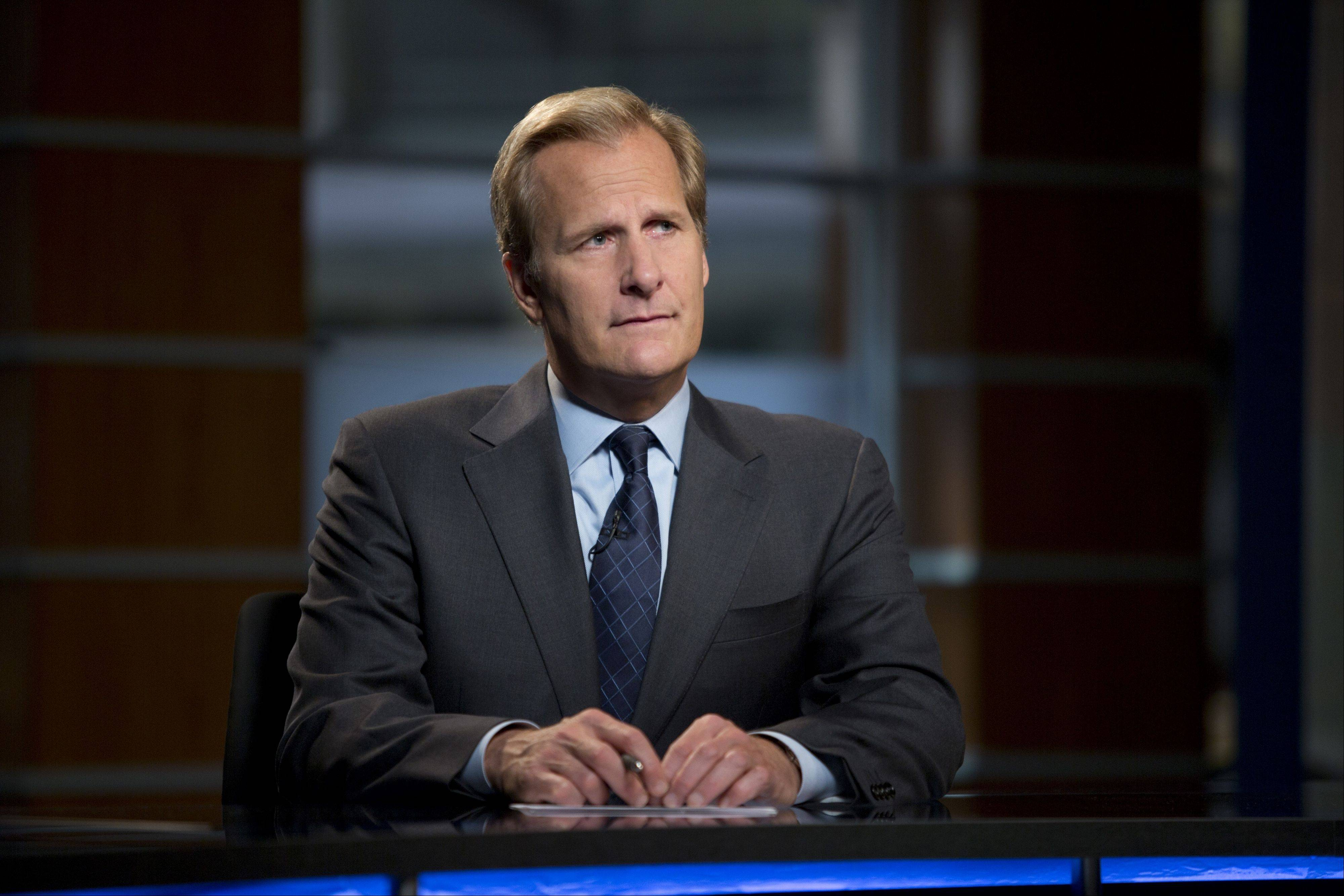 "Jeff Daniels return as Will McAvoy for the second season of ""The Newsroom,"" which premieres at 9 p.m. Sunday, July 14, on HBO."