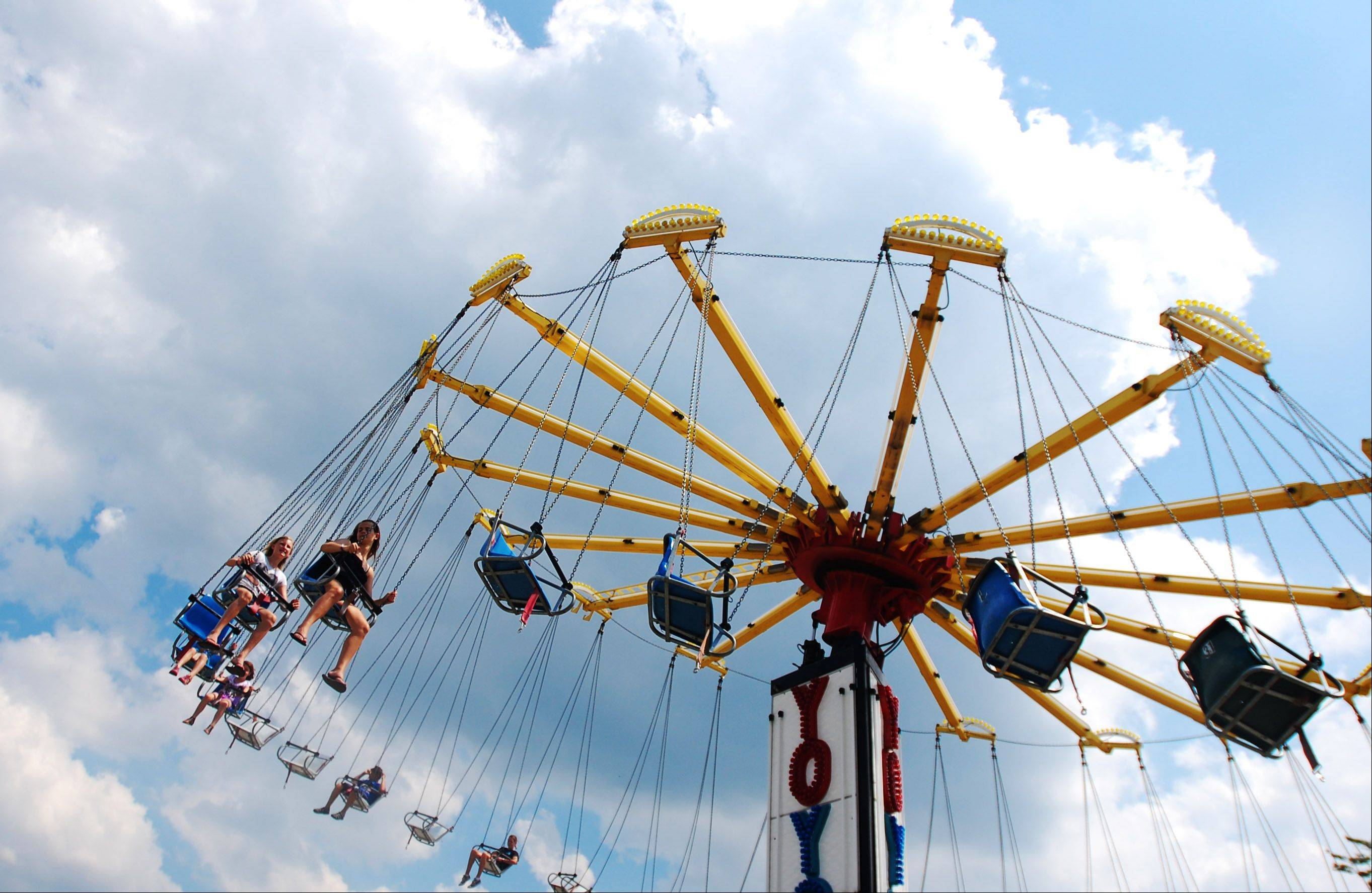 Rides were a popular attraction at The Windmill City Festival at the Riverwalk in Batavia on Sunday, July 14.