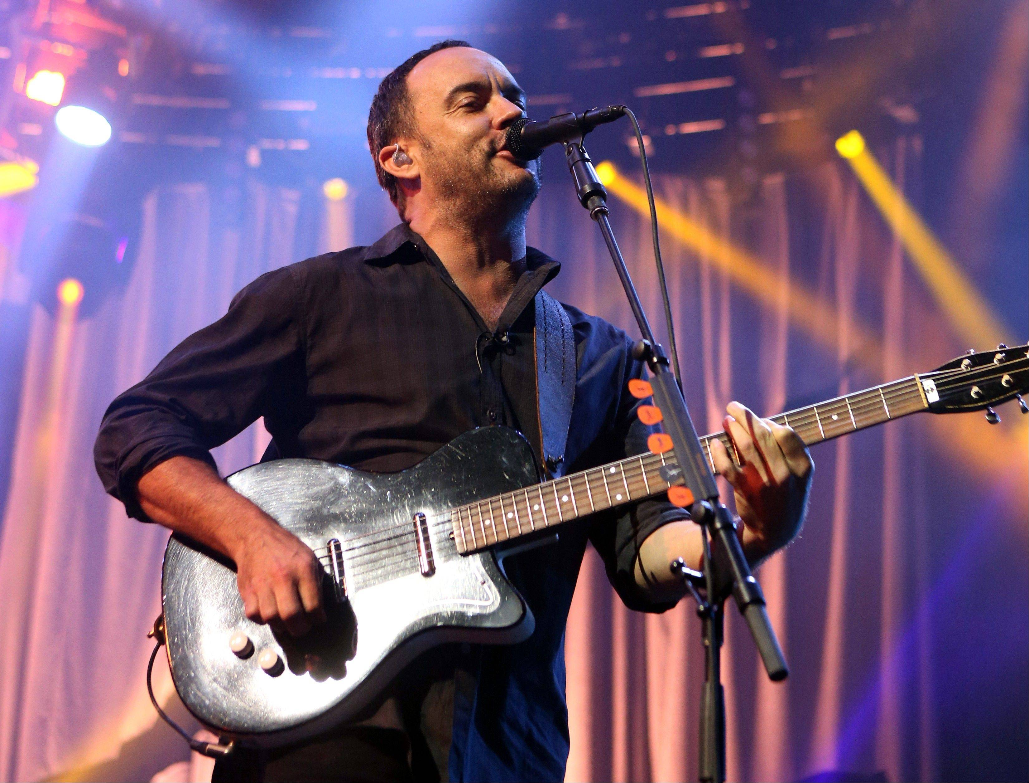 Emily Kraus, one of Dave Matthews� fans pulled over to give a stranded cyclist a ride and realized the hitchhiker was none other than Matthews. His bike had broken down Saturday before a show in Hershey, Pa.