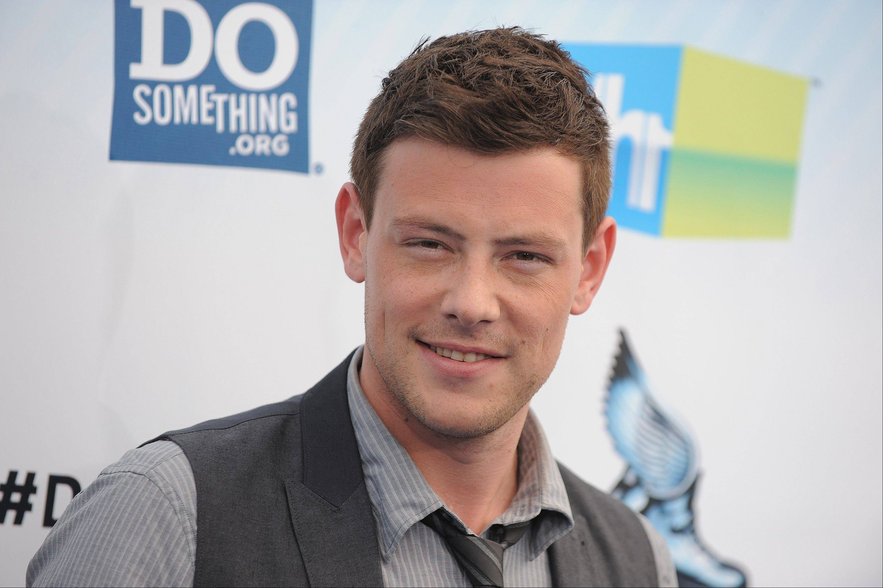 "In this 2012 file photo, ""Glee"" star Cory Monteith attends the 2012 Do Something awards in Santa Monica, Calif. Monteith, 31, was found dead in his hotel room in Vancouver on Saturday."