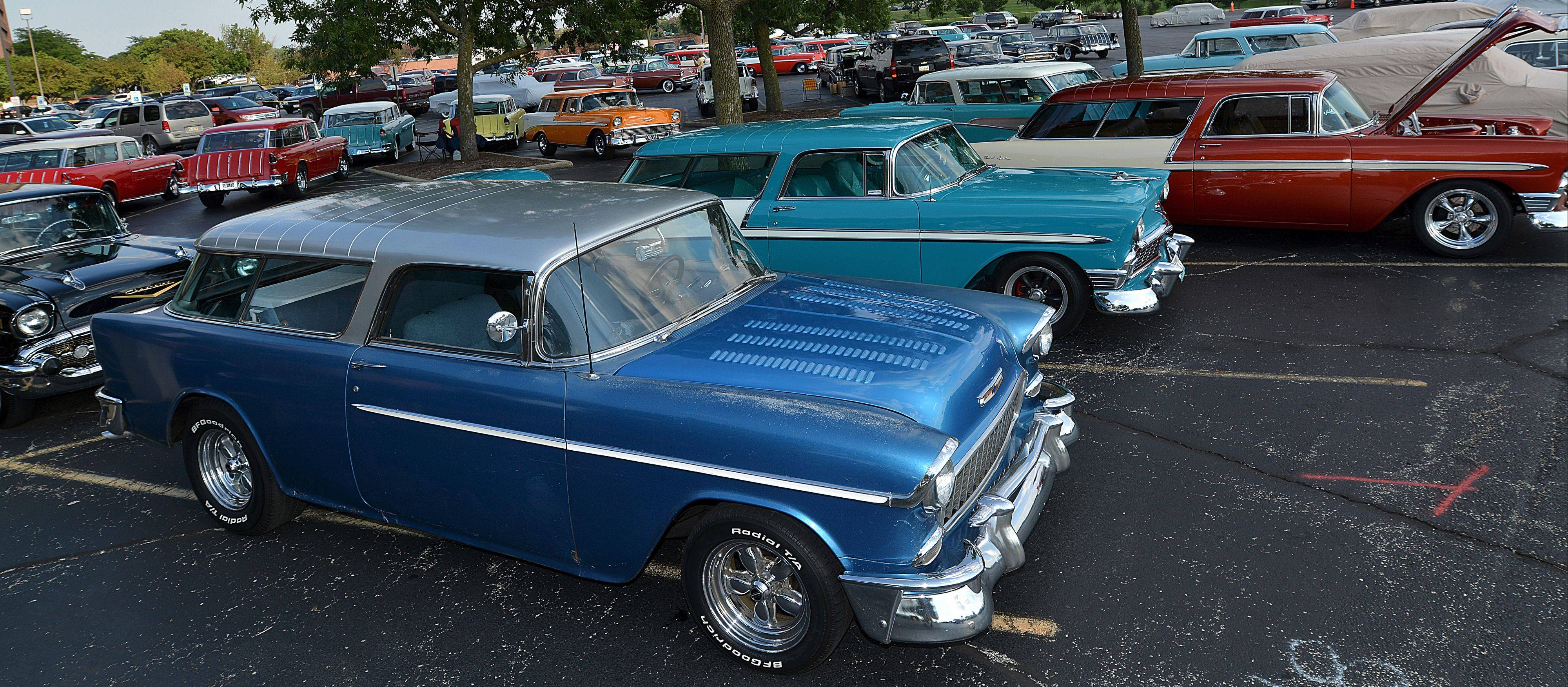 More than 100 enthusiasts parked their rides at the Chevrolet Nomad Association's 25th annual convention in Itasca last week.