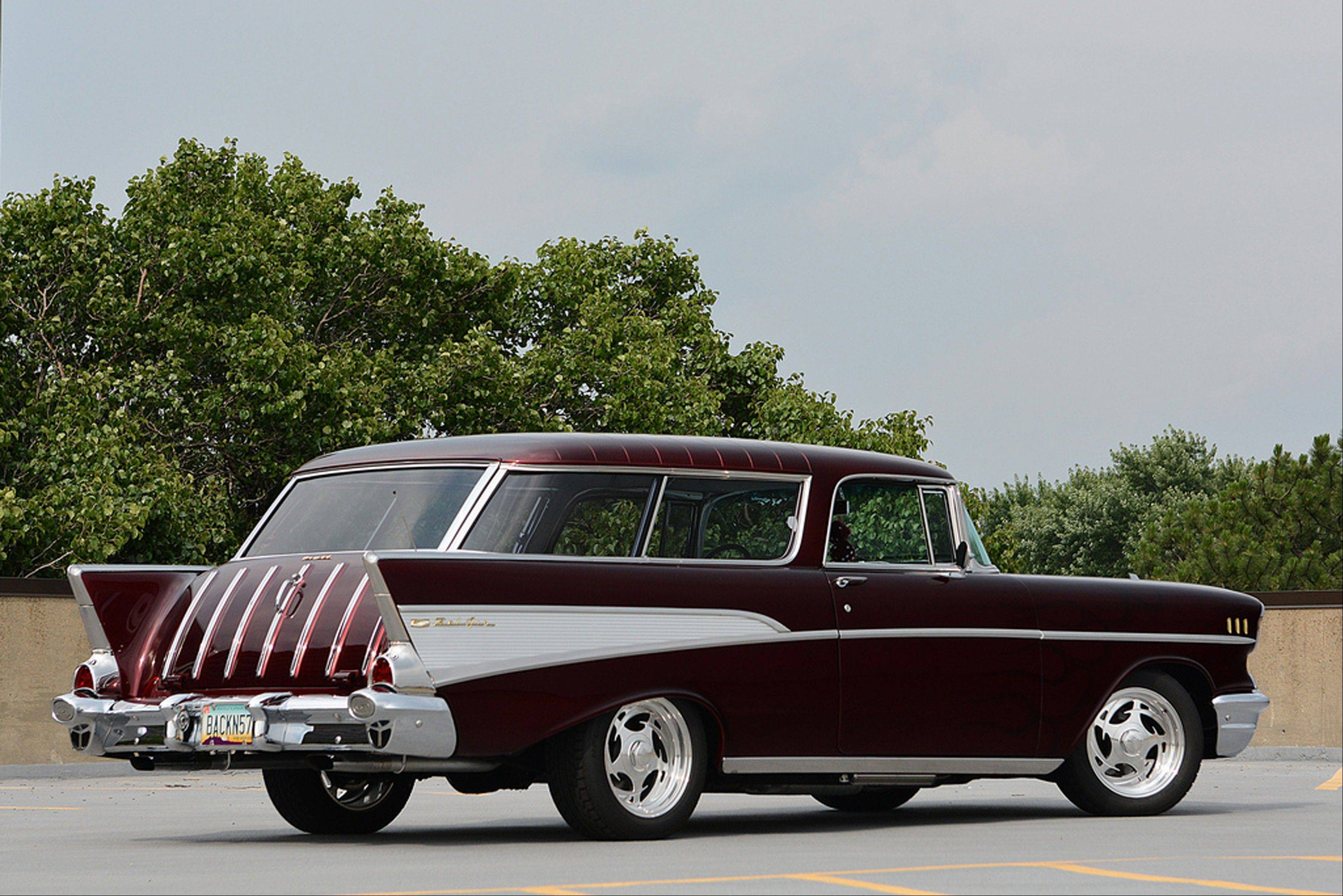 The Chevrolet Nomad had just three years in production, from 1955 to 1957, but has enjoyed a half century of nostalgia.