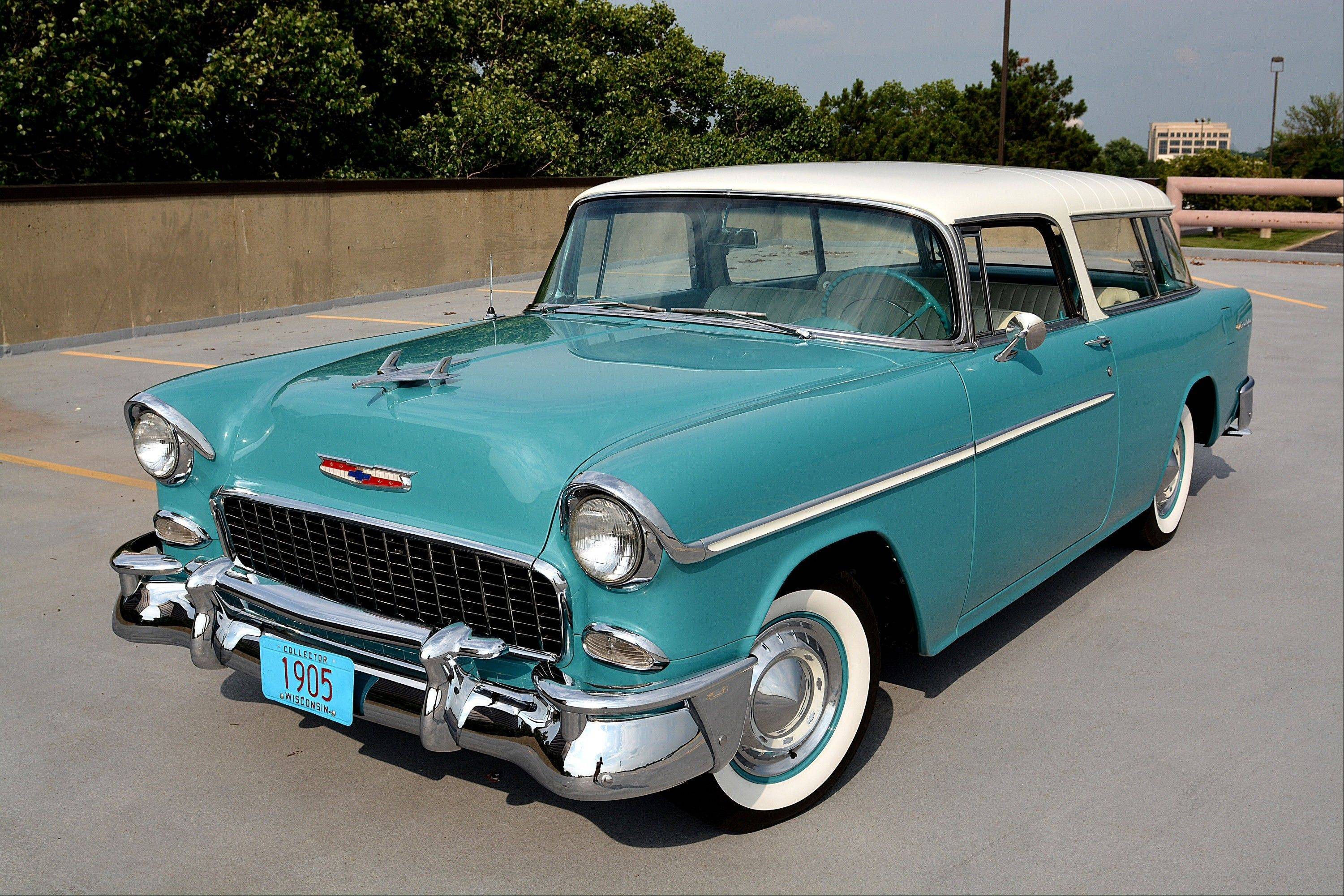A 10-month overhaul of this 1955 Chevrolet Nomad was complete in 2011.