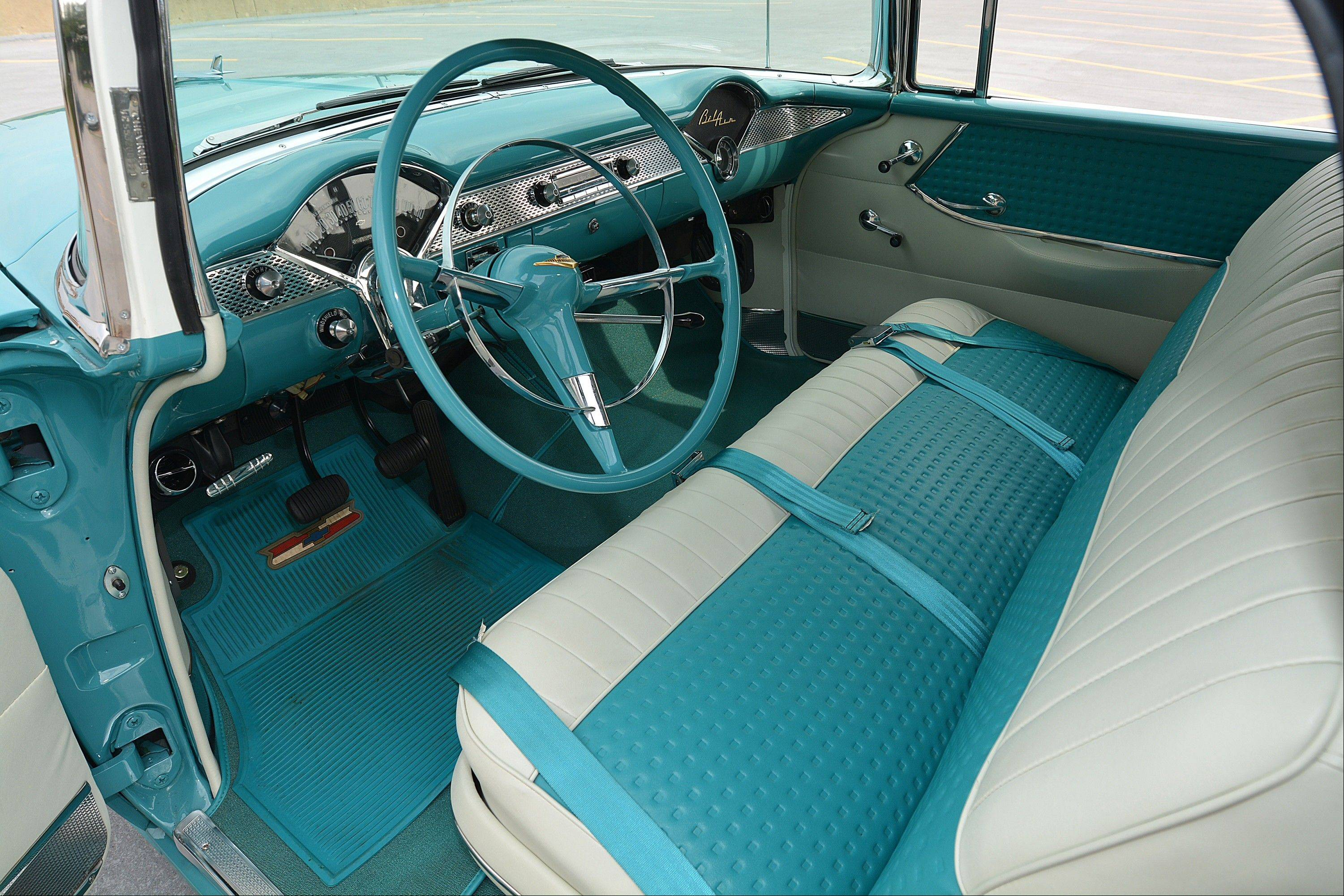 The original bench seat was tossed in favor of sportier GTO seats.
