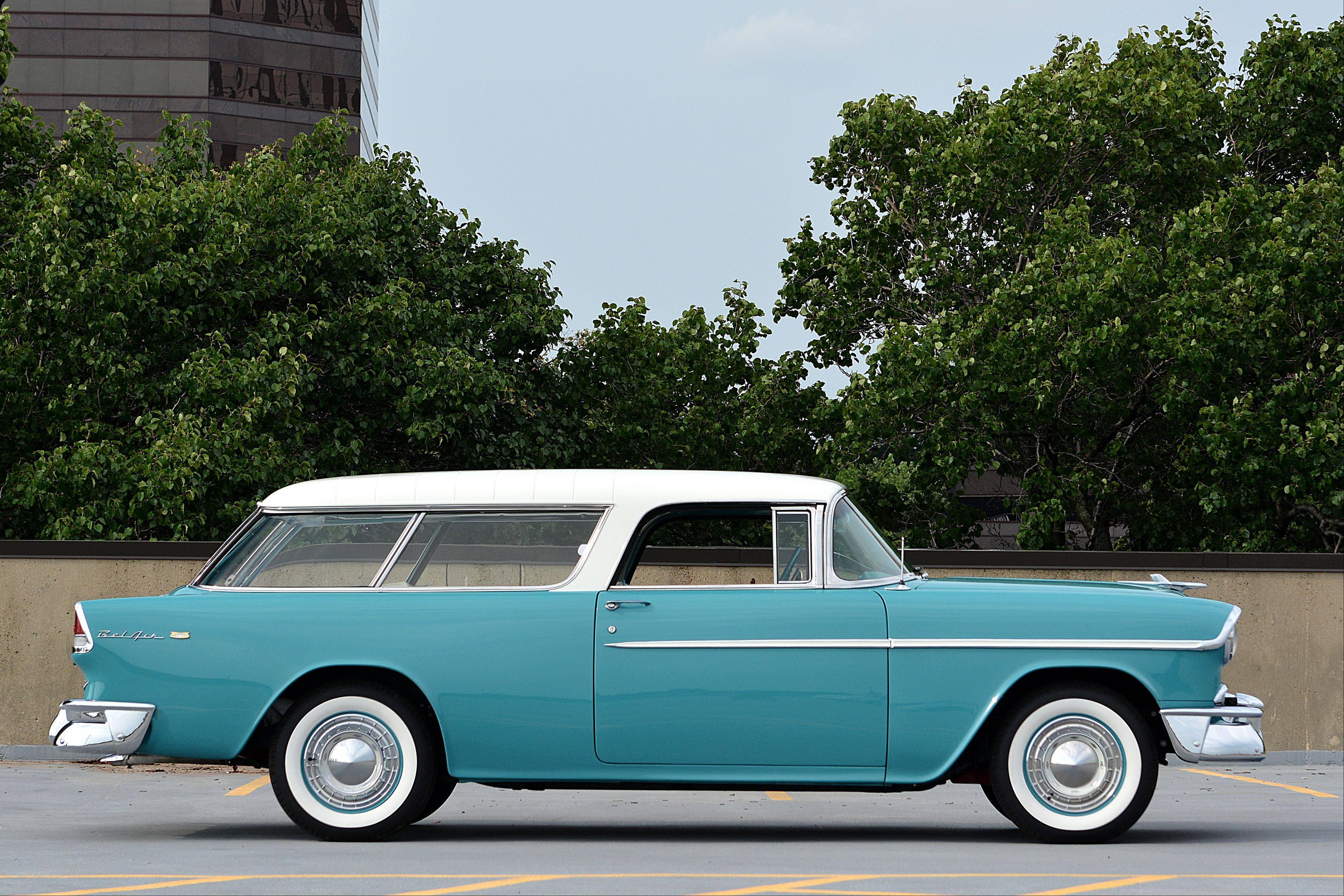 The Millers drive their restored 1965 Nomad to conventions across the U.S. and Canada.