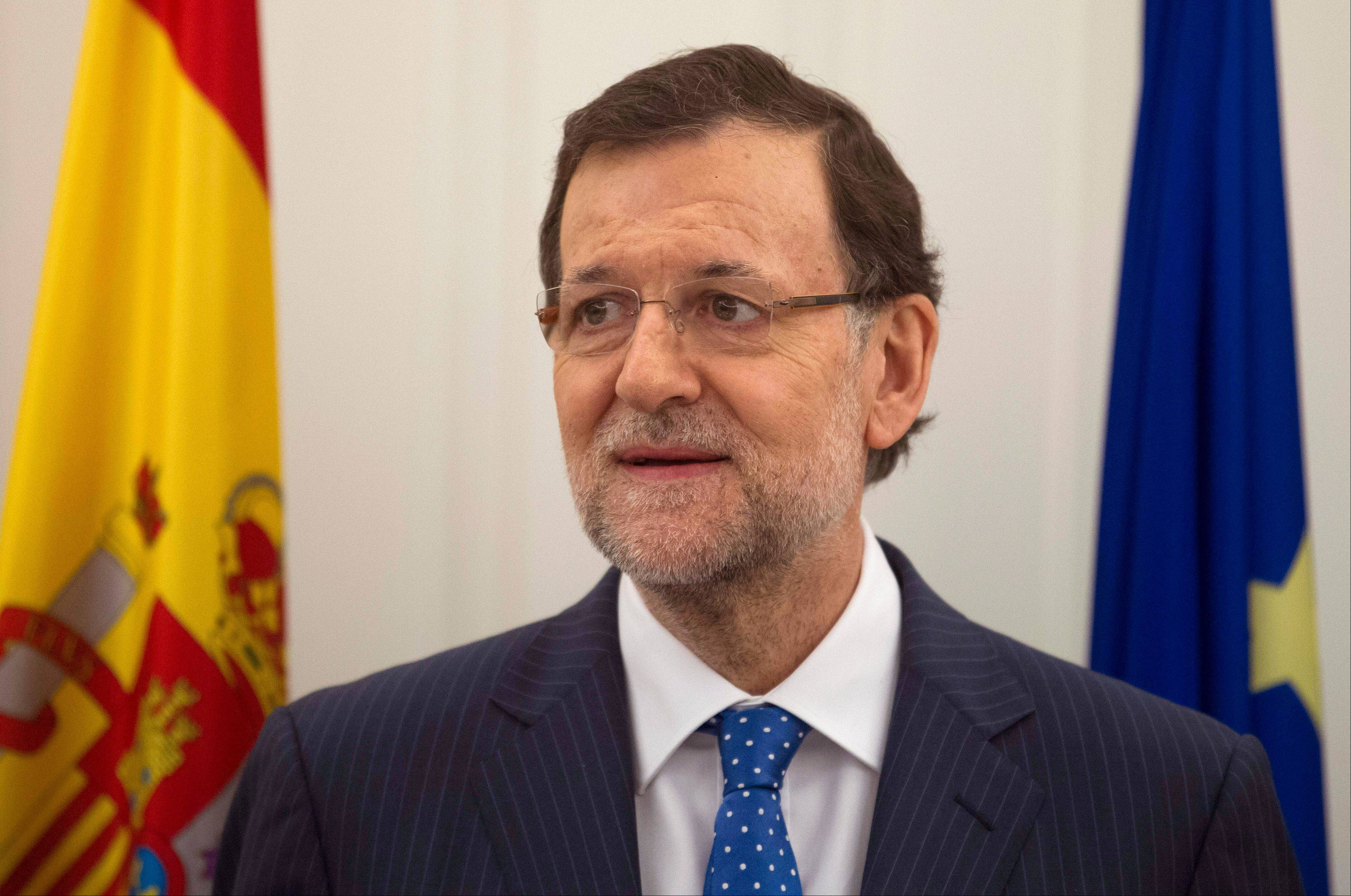 Conservative Spanish Prime Minister Mariano Rajoy is certain to face a barrage of questions in a news conference following a newspaper publication of alleged text message exchanges between him and a now jailed former party treasurer that have prompted opposition demands for the premier to resign.