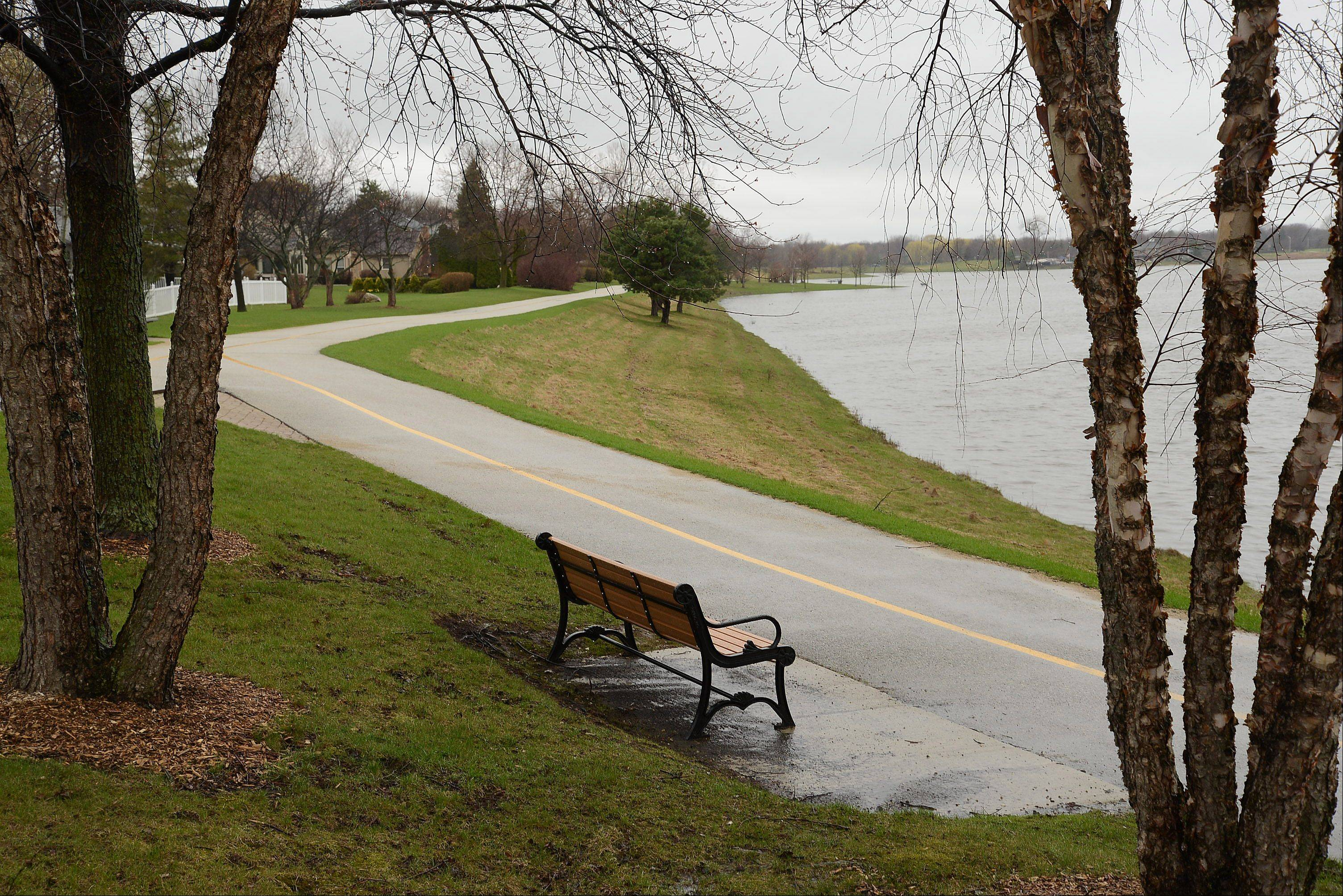 The Arlington Heights Park District announced this weekend that it will make a few interim changes at Lake Arlington in light of the recent death of a pedestrian who was struck by a bicyclist last month.