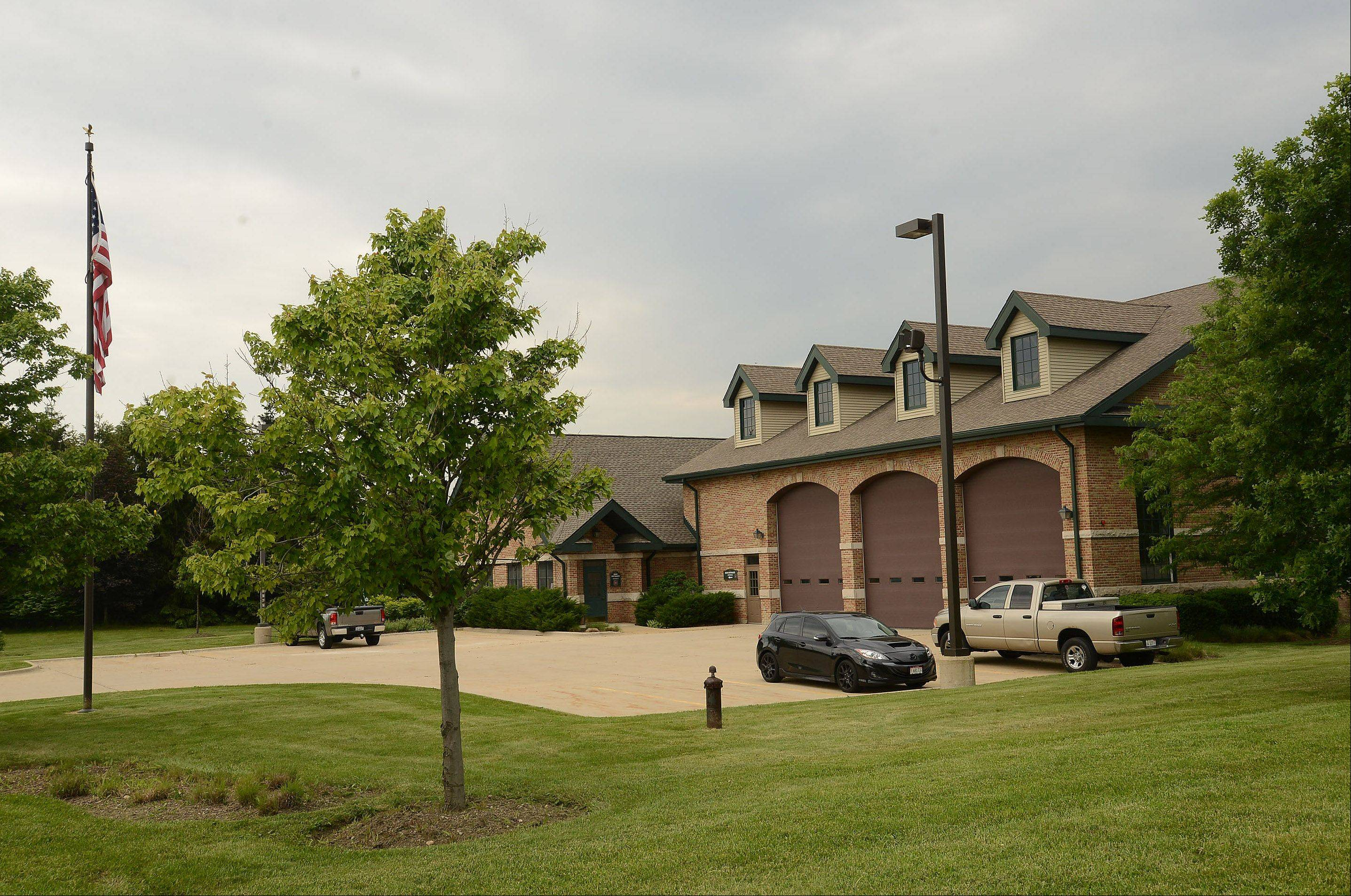 The Barrington Countryside Fire Protection District, which owns this fire station next to Barrington Hills village hall, is expected to make major decisions Monday regarding the end of its contract with the Barrington Fire Department.